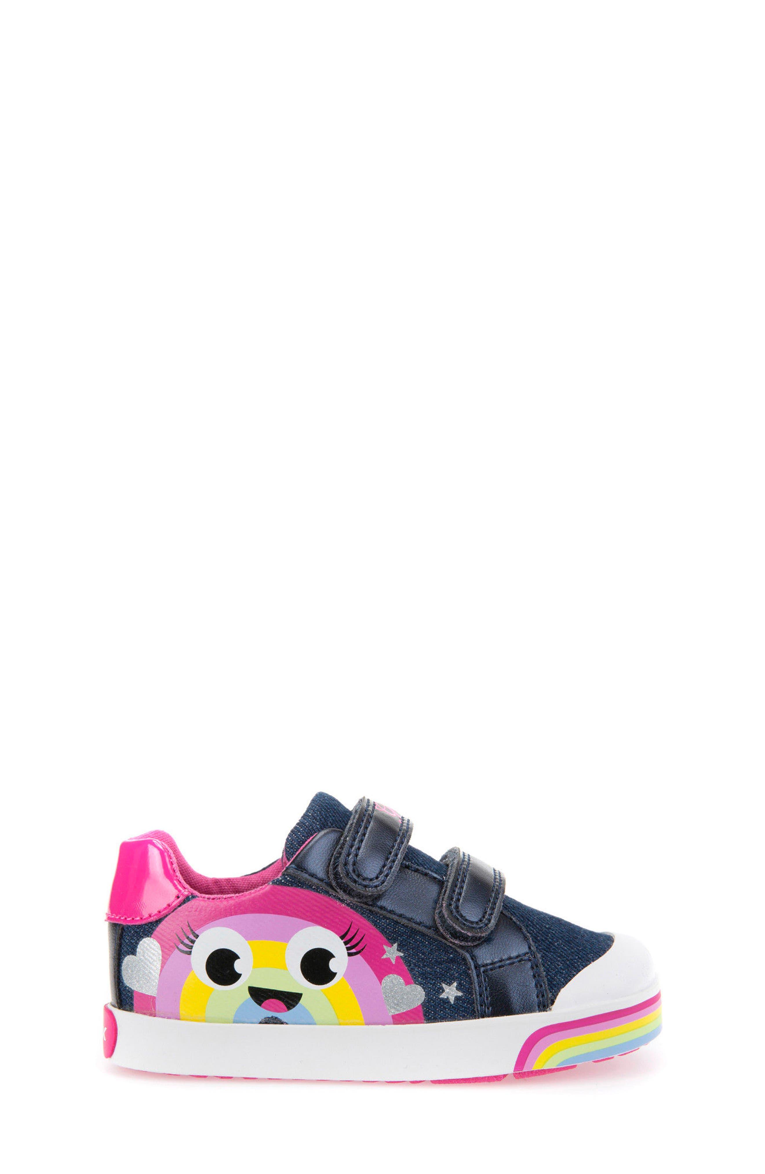 Kilwi Low Top Sneaker,                             Alternate thumbnail 3, color,                             Avio/ Multicolor