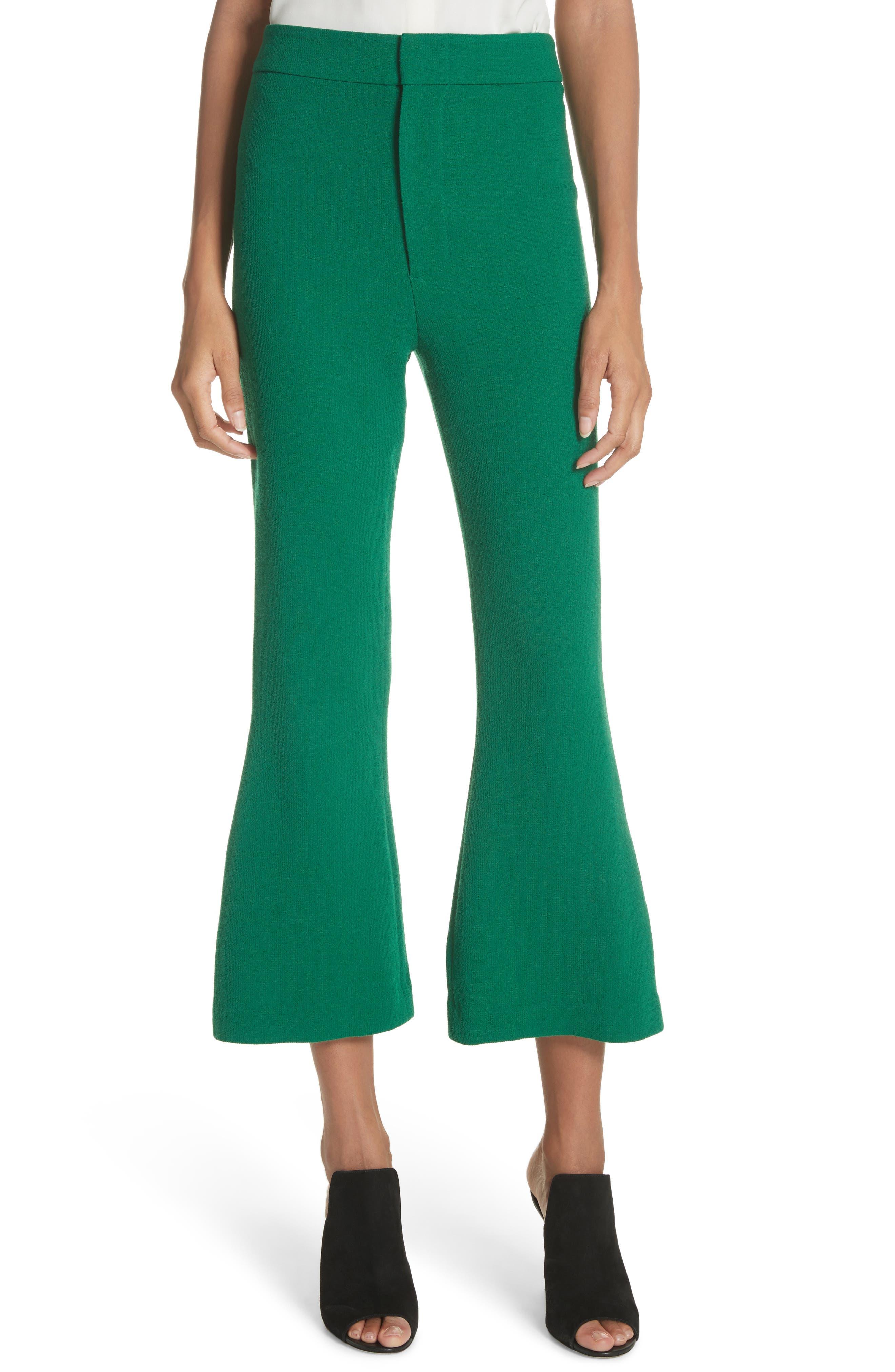 Smythe Crop Flare Pants