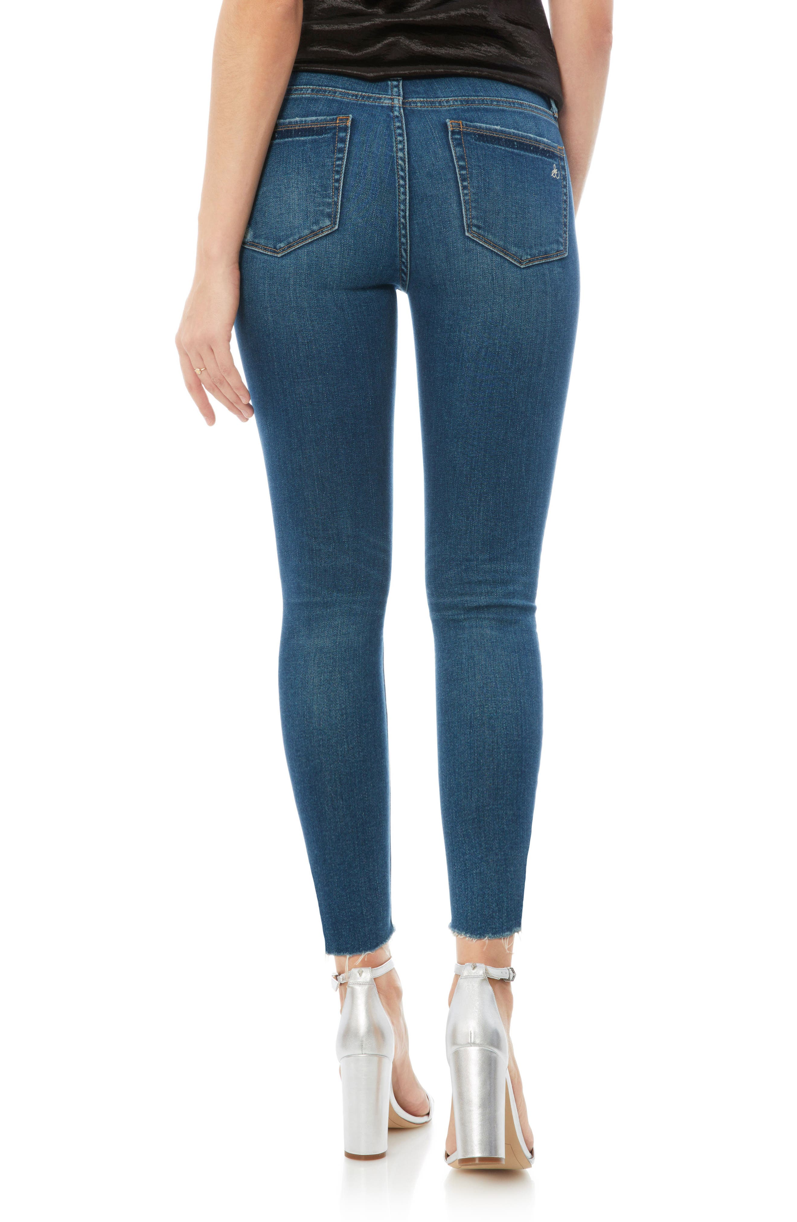 The Stiletto High Rise Skinny Jeans,                             Alternate thumbnail 2, color,                             Lanelle