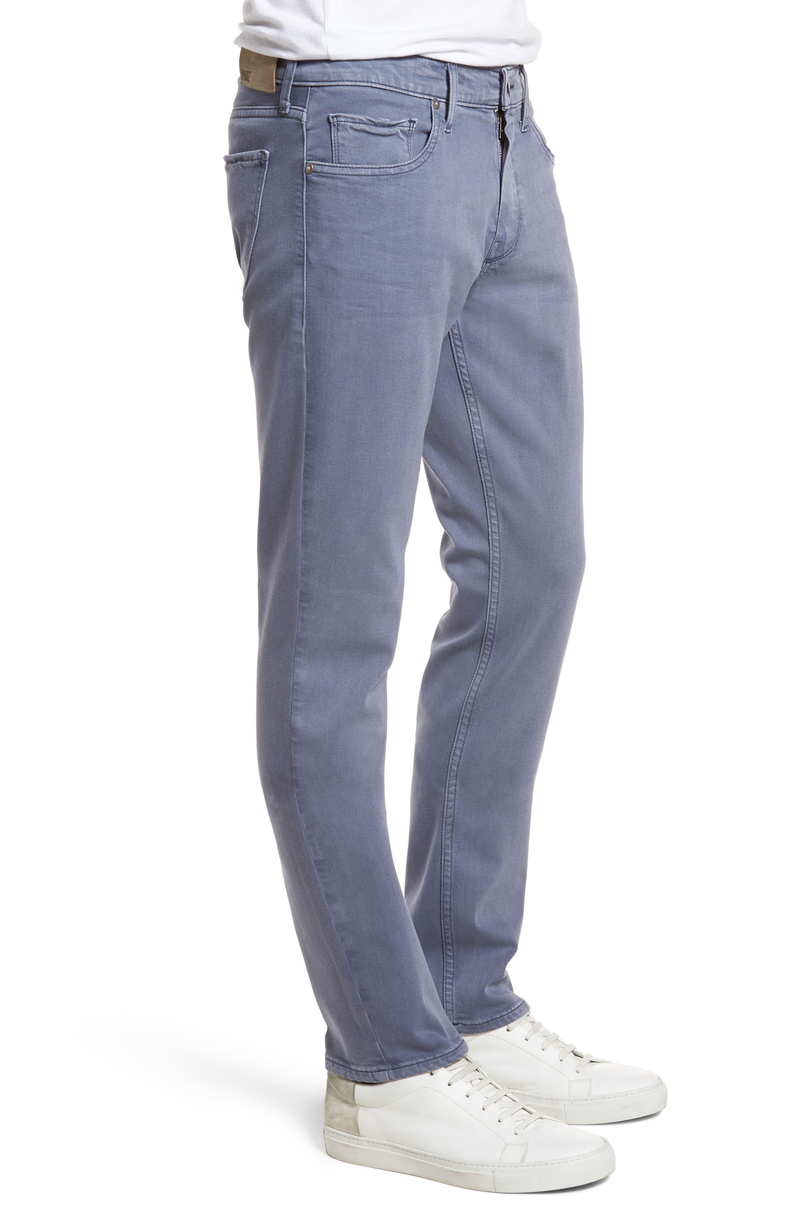 Transcend - Federal Slim Straight Leg Jeans,                             Alternate thumbnail 3, color,                             Vintage Smokey Blue