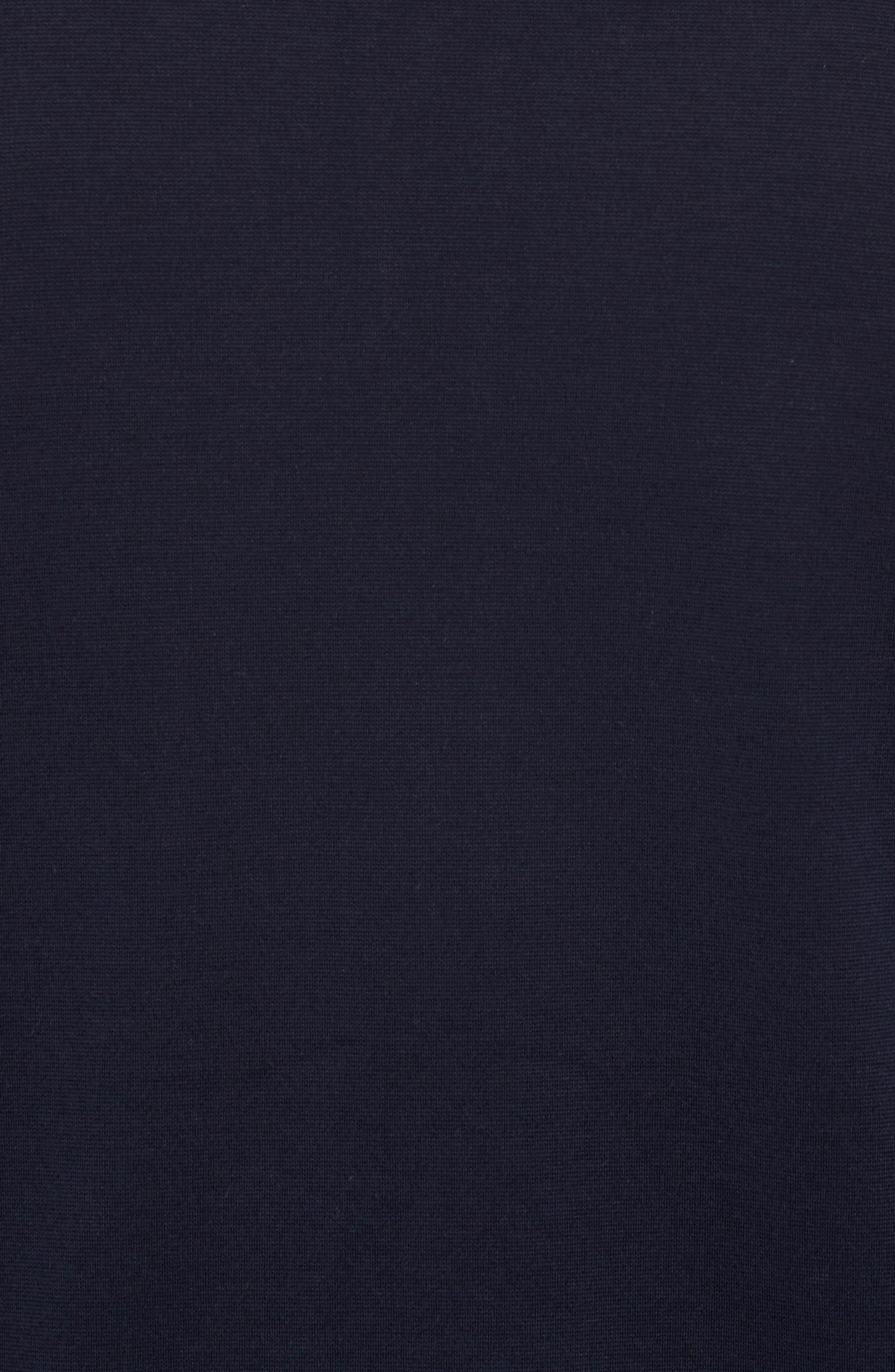 Fleece Jacket,                             Alternate thumbnail 5, color,                             Navy Night Black