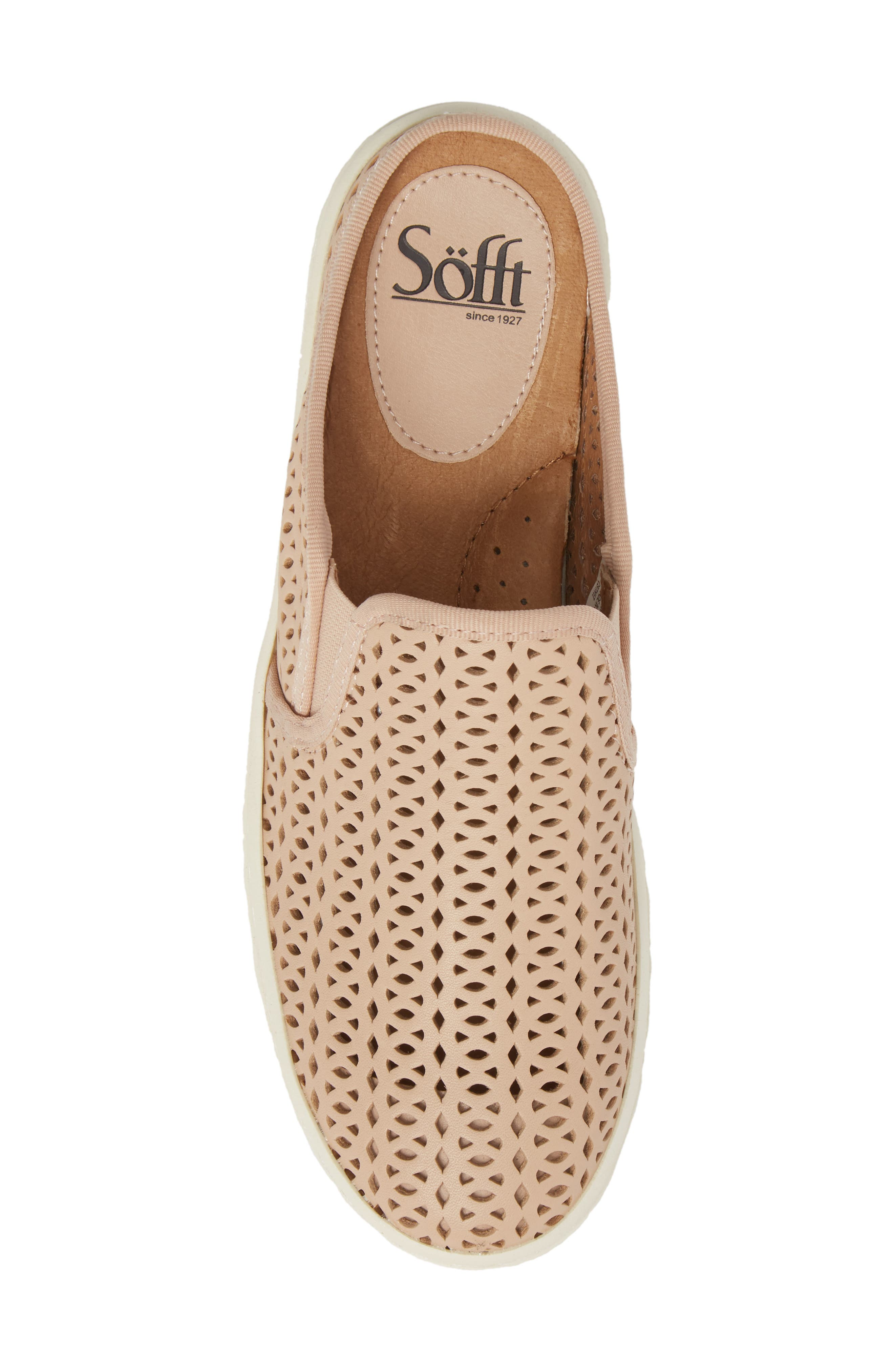 Somers II Sneaker Mule,                             Alternate thumbnail 5, color,                             Blush Leather