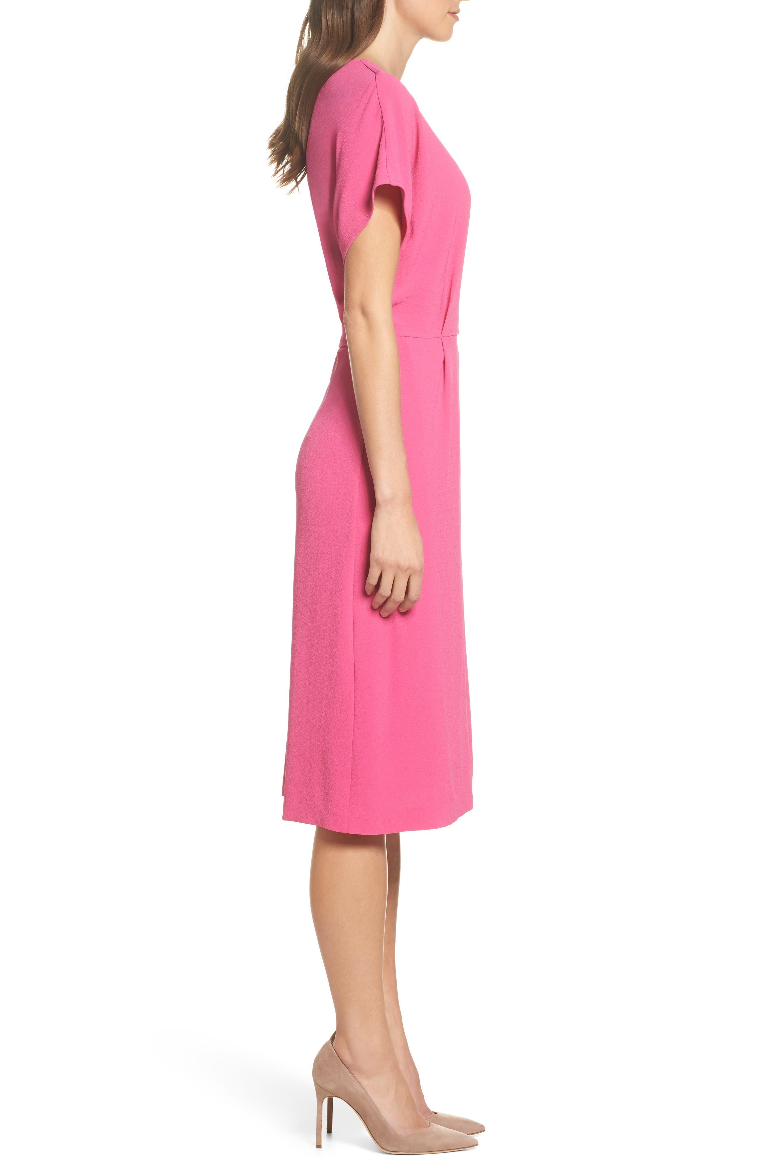 Alternate Image 3  - Felicity & Coco Rita Wrap Dress (Regular & Petite) (Nordstrom Exclusive)