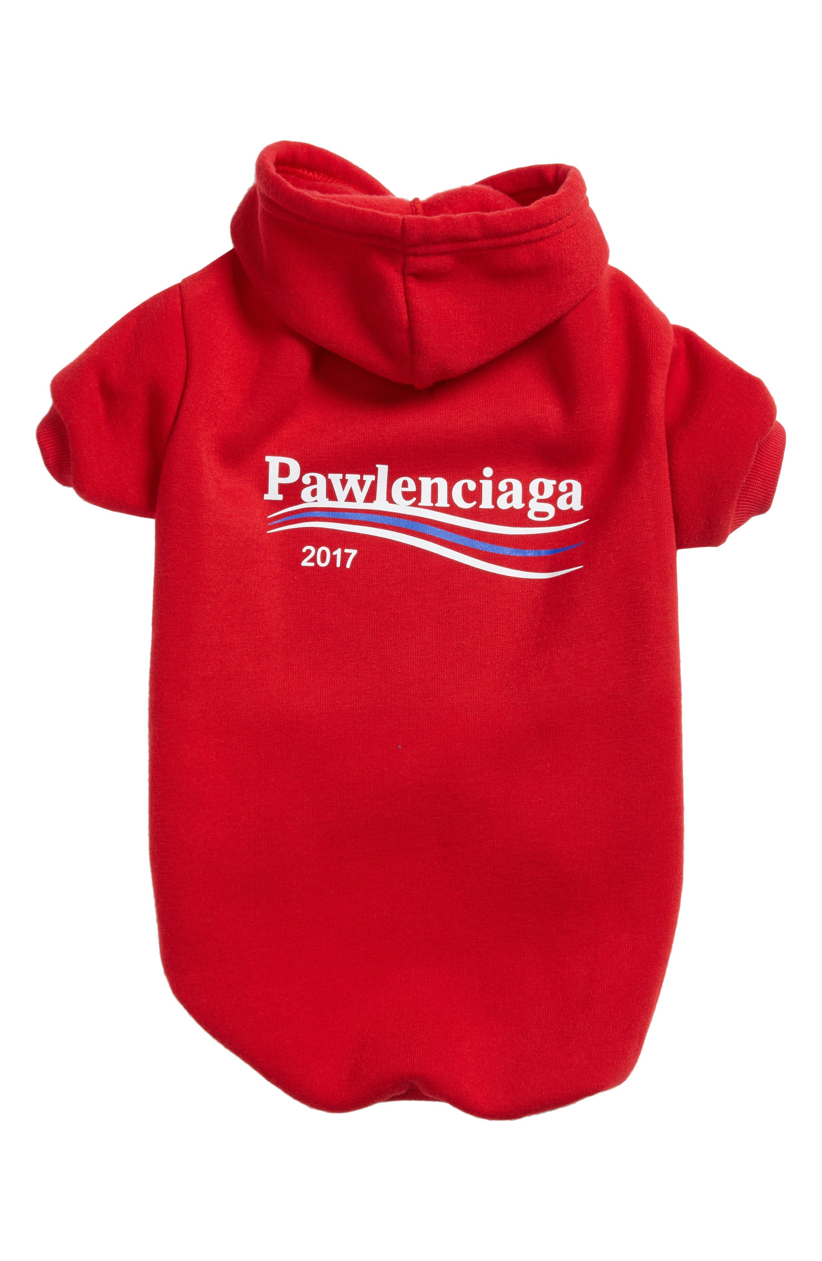 Pawmain Pawlenciaga Dog Hoodie