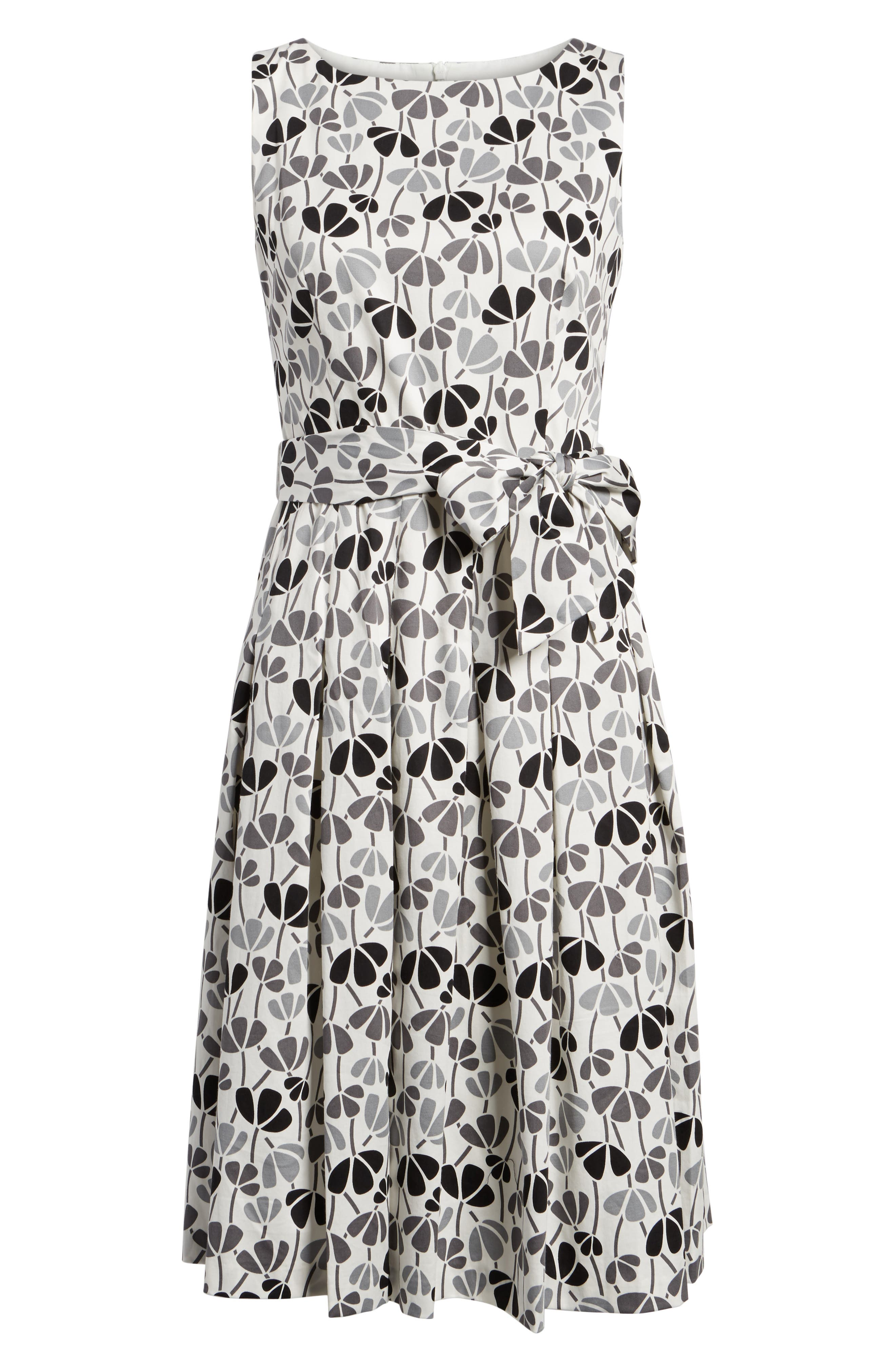 Alternate Image 6  - Anne Klein New York Flowerfall Fit and Flare Dress