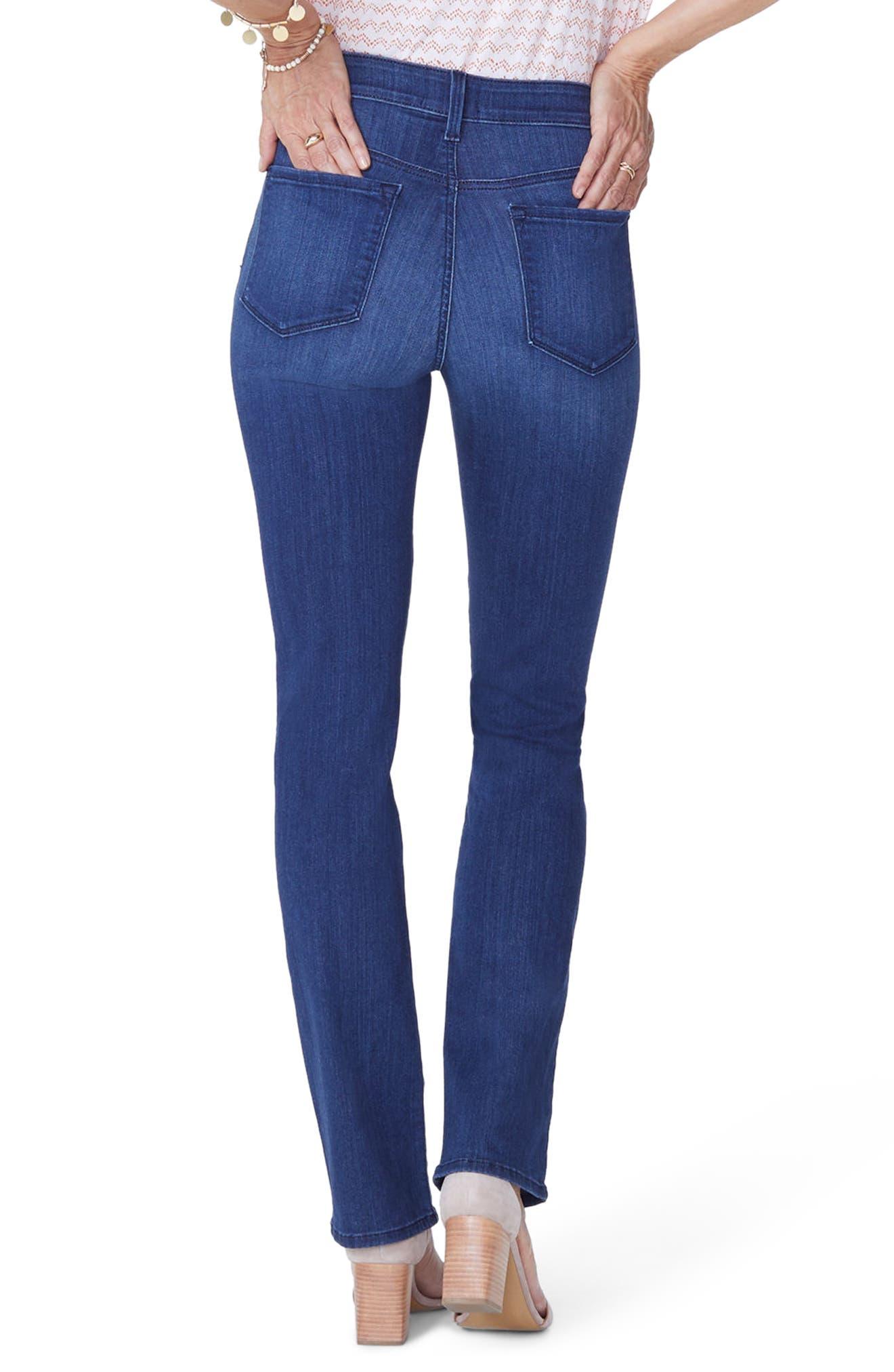 Marilyn Straight Jeans,                             Alternate thumbnail 2, color,                             Lark