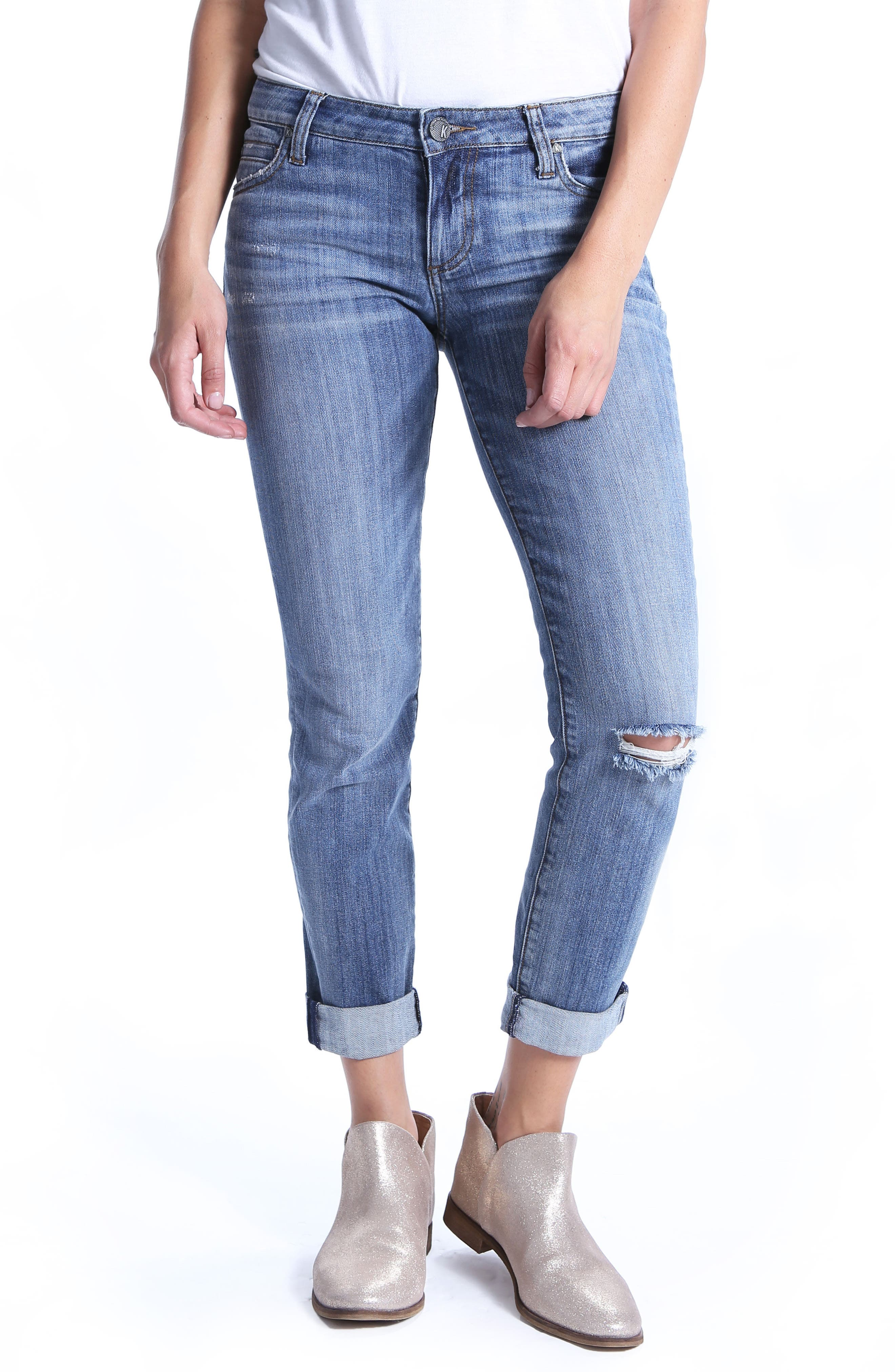 KUT from the Kloth Catherine Boyfriend Jeans (Uncommon)