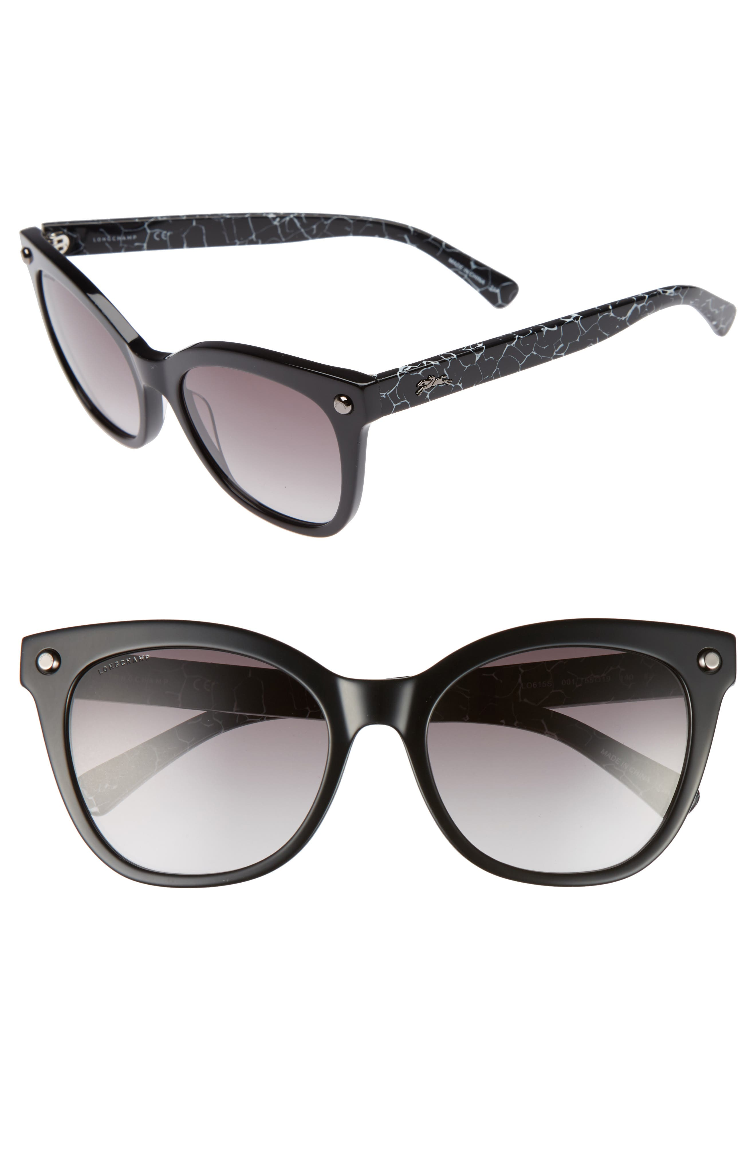 Longchamp 55mm Cat Eye Sunglasses
