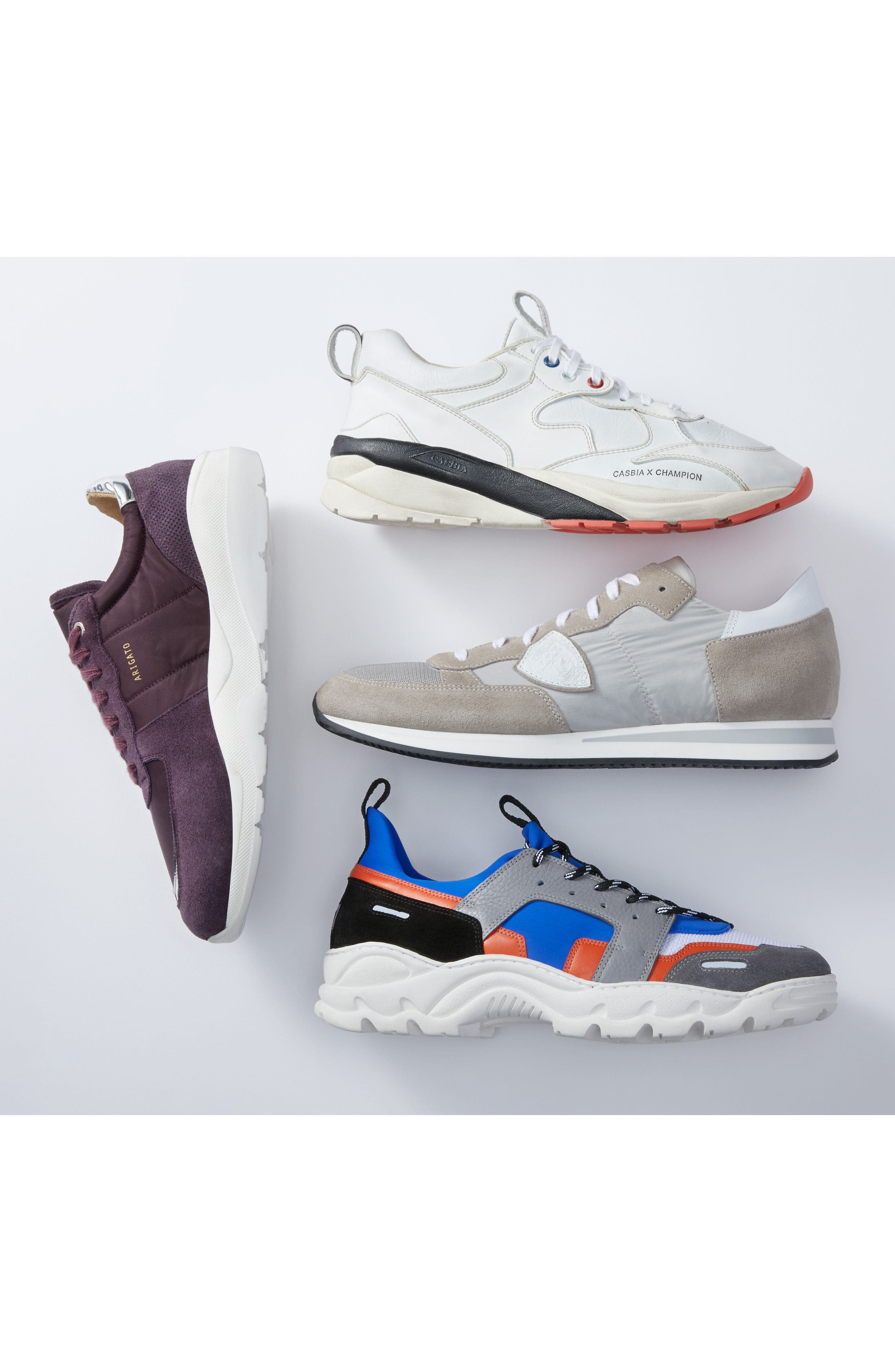 Geo Sneaker,                             Alternate thumbnail 7, color,