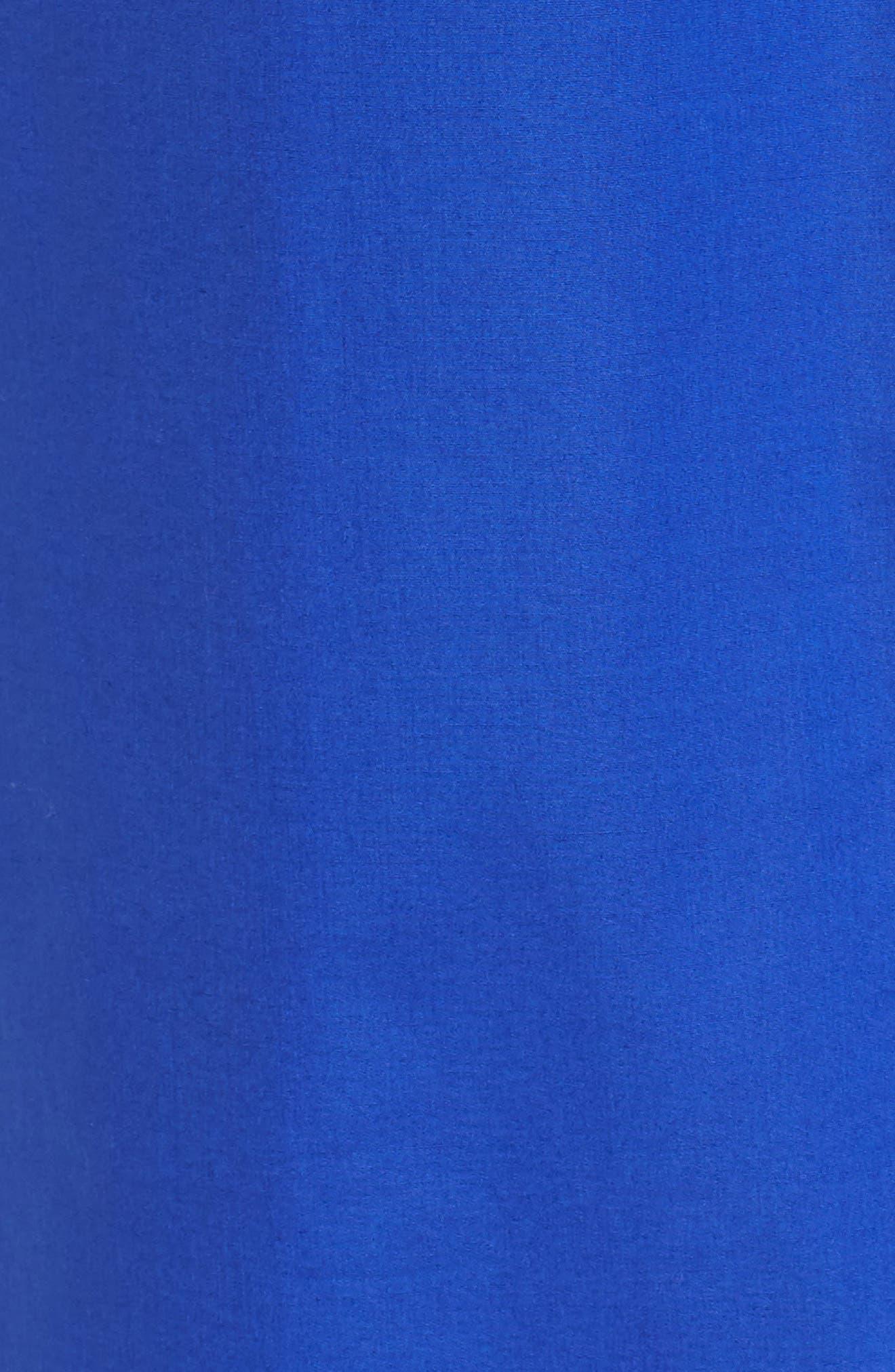 Dashir Stretch Cotton Shirtdress,                             Alternate thumbnail 5, color,                             Sailor Blue