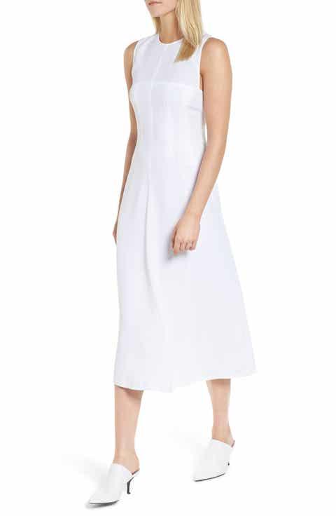 Lewit Corset Detail Midi Dress