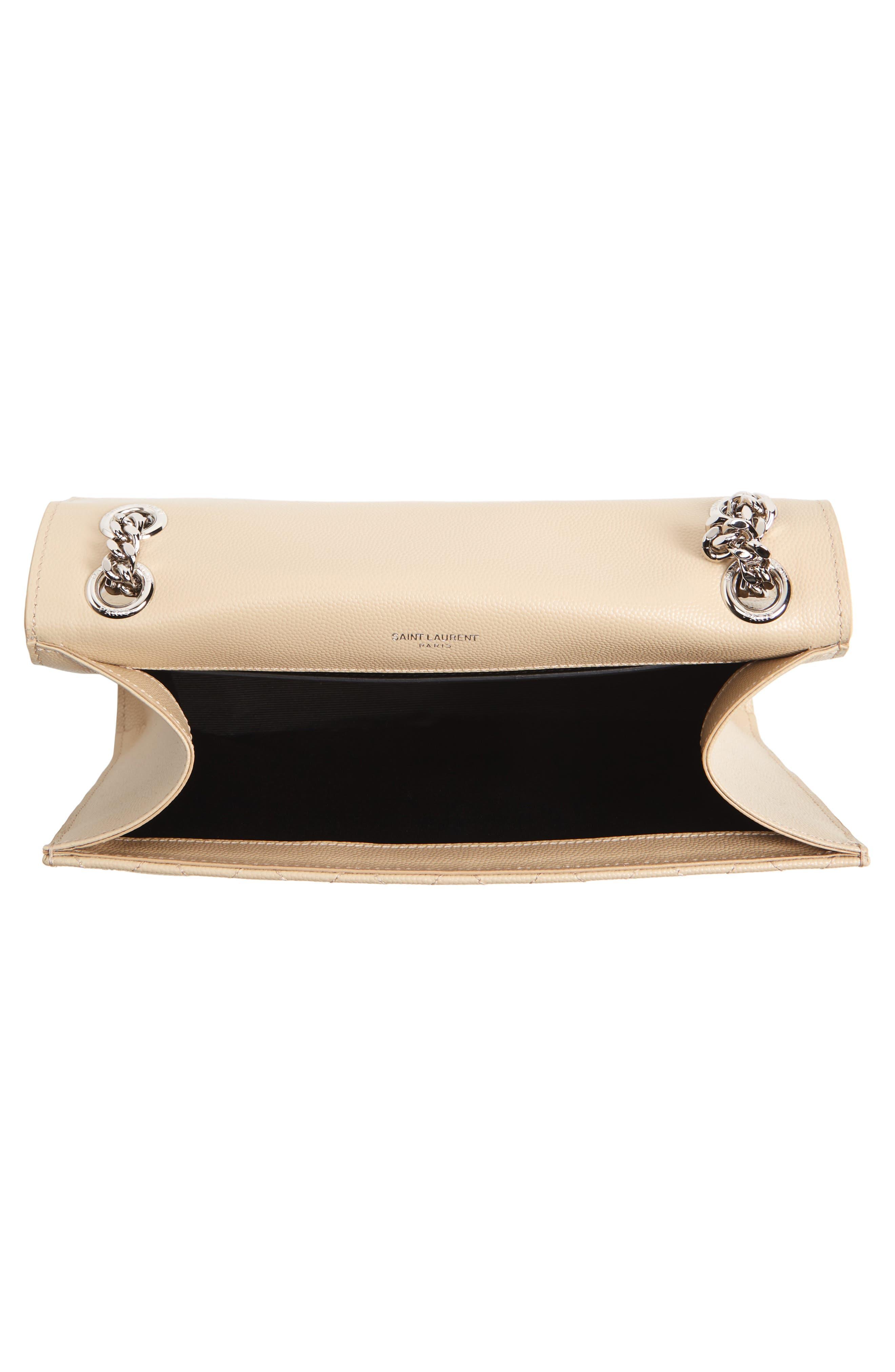 Alternate Image 4  - Saint Laurent Medium Calfskin Shoulder Bag