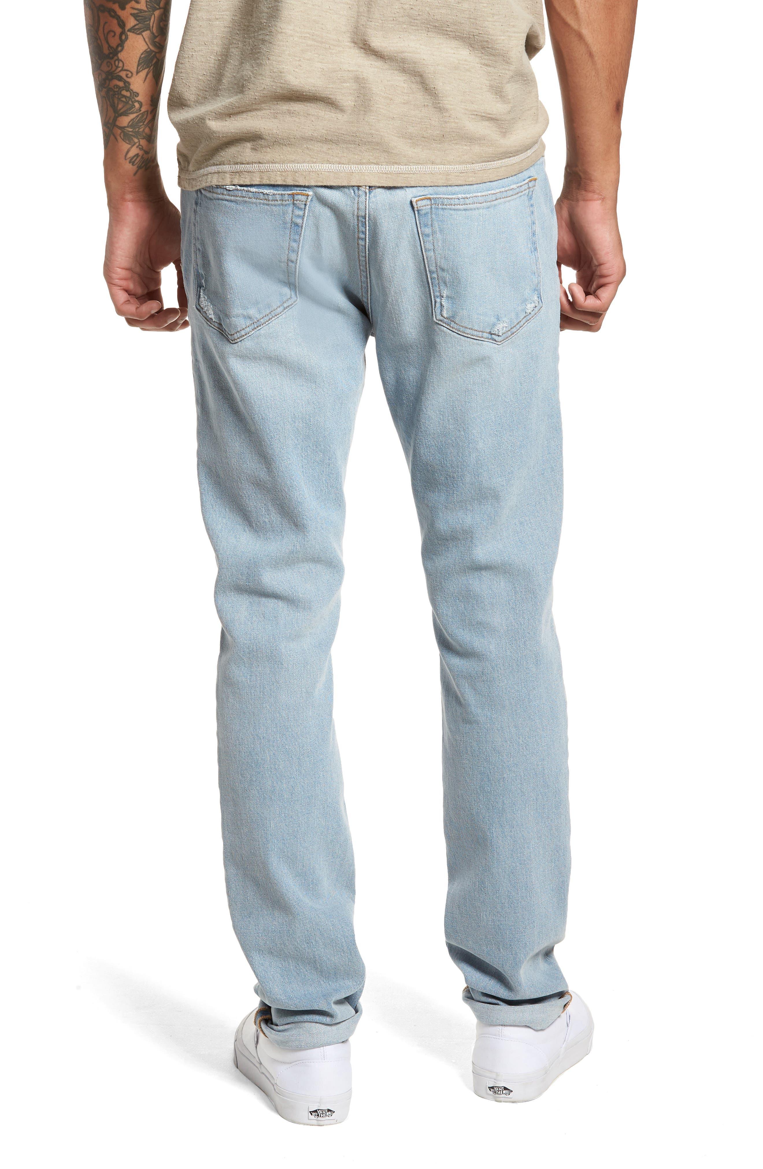 L'Homme Skinny Fit Jeans,                             Alternate thumbnail 2, color,                             Arnett