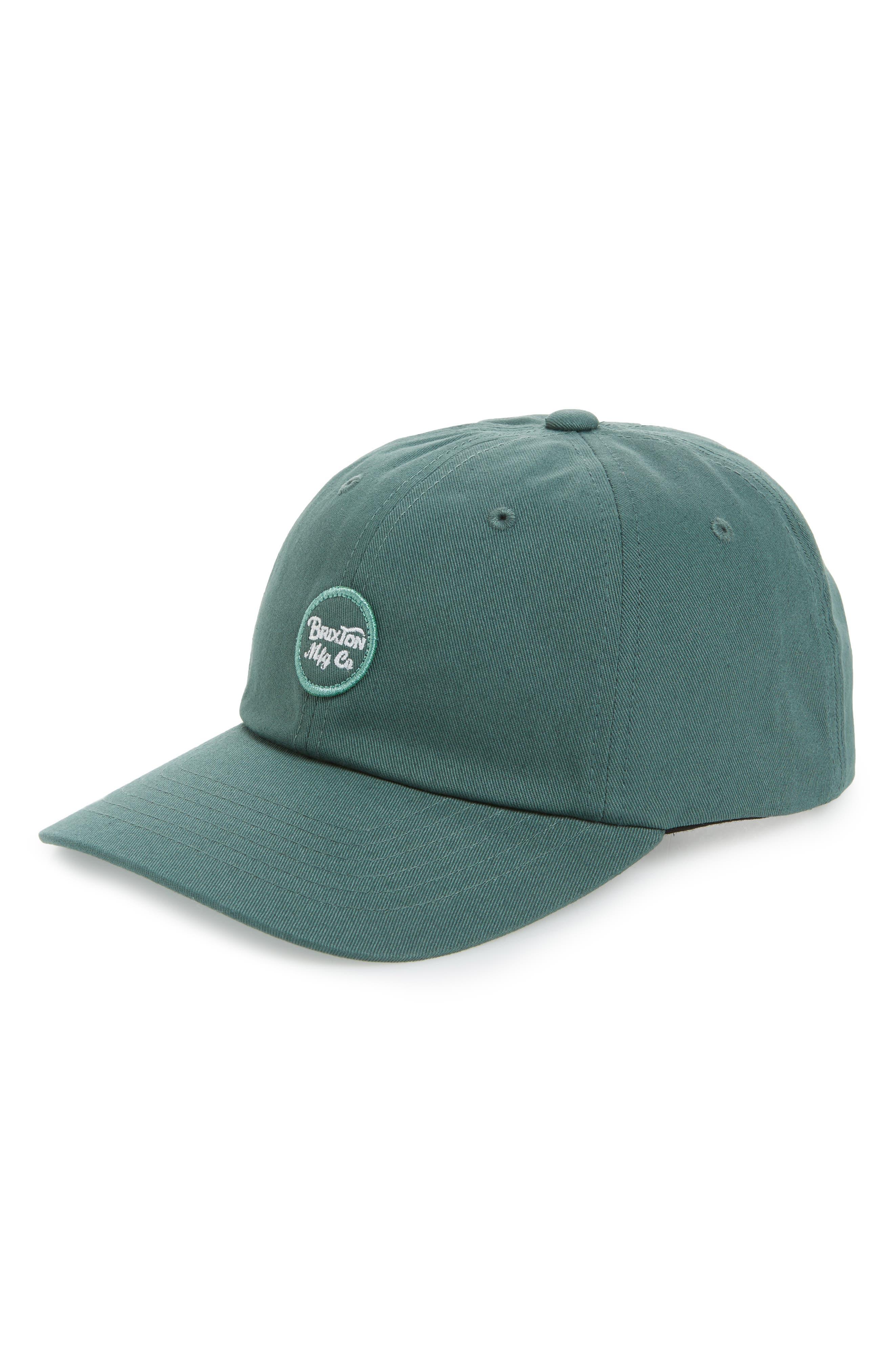 Wheeler Baseball Cap,                             Main thumbnail 1, color,                             Chive