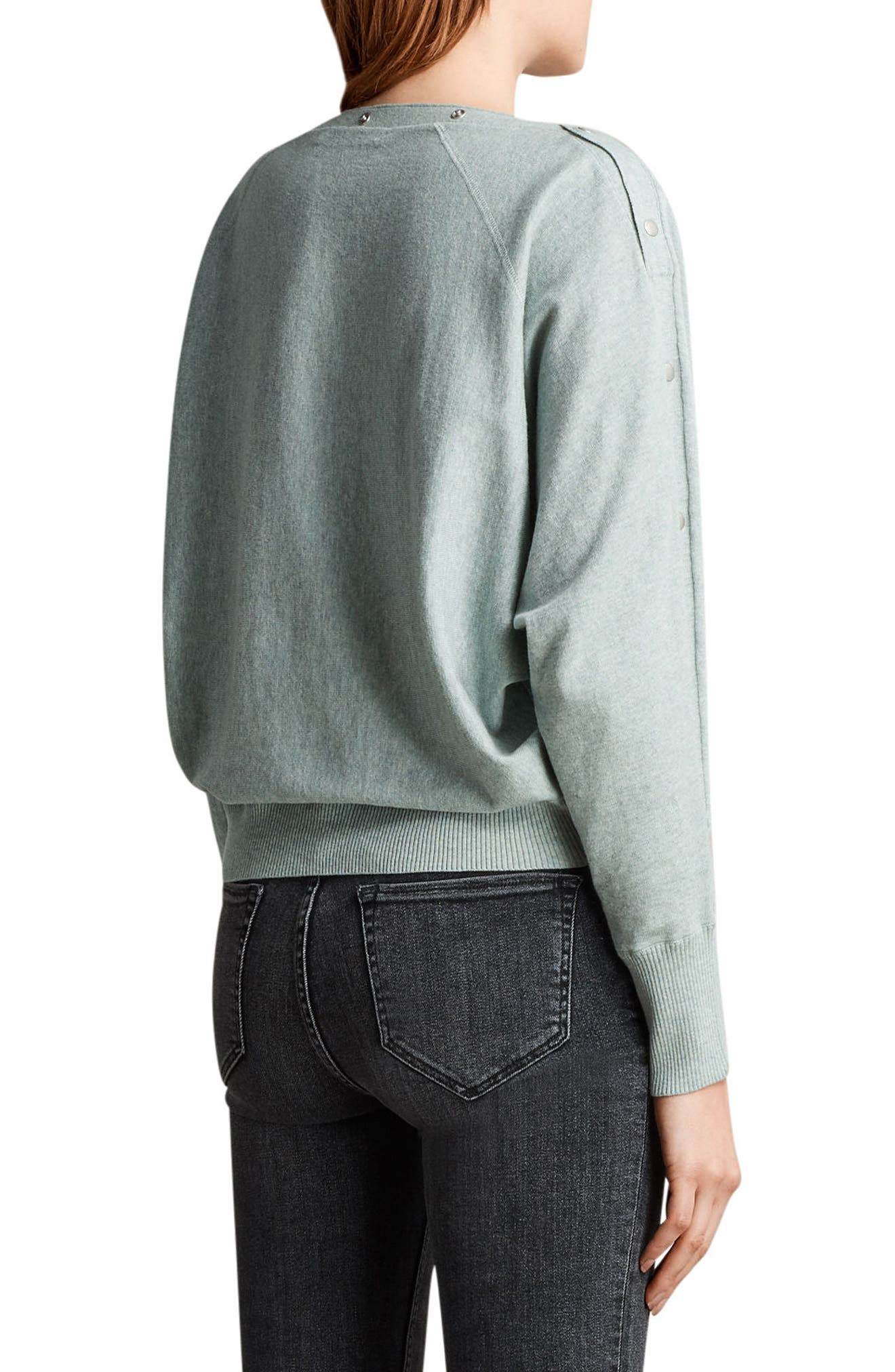 Elle Sweater,                             Alternate thumbnail 2, color,                             Mint Green