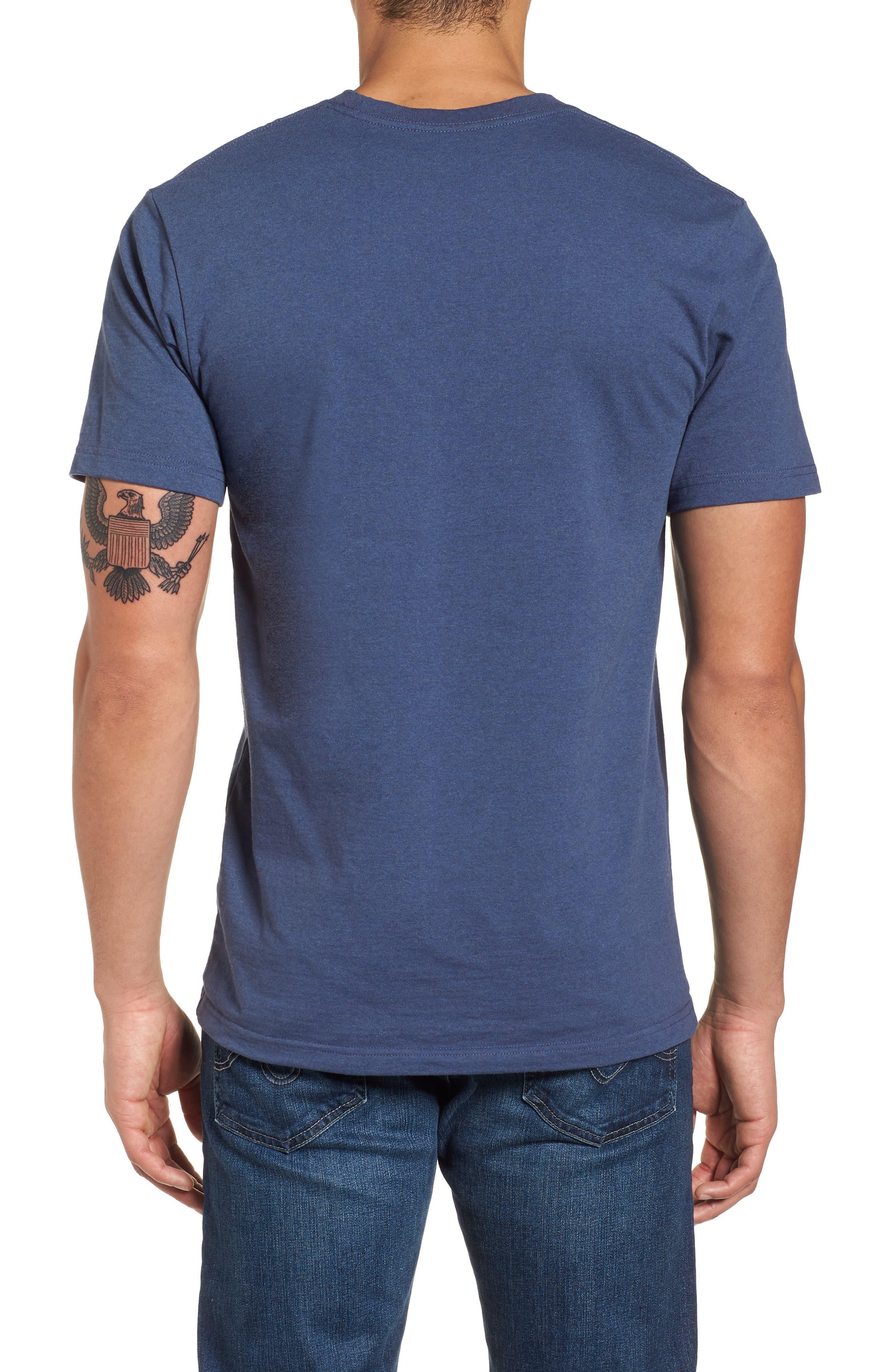Glacier Born Responsibili-Tee T-Shirt,                             Alternate thumbnail 2, color,                             Dolomite Blue