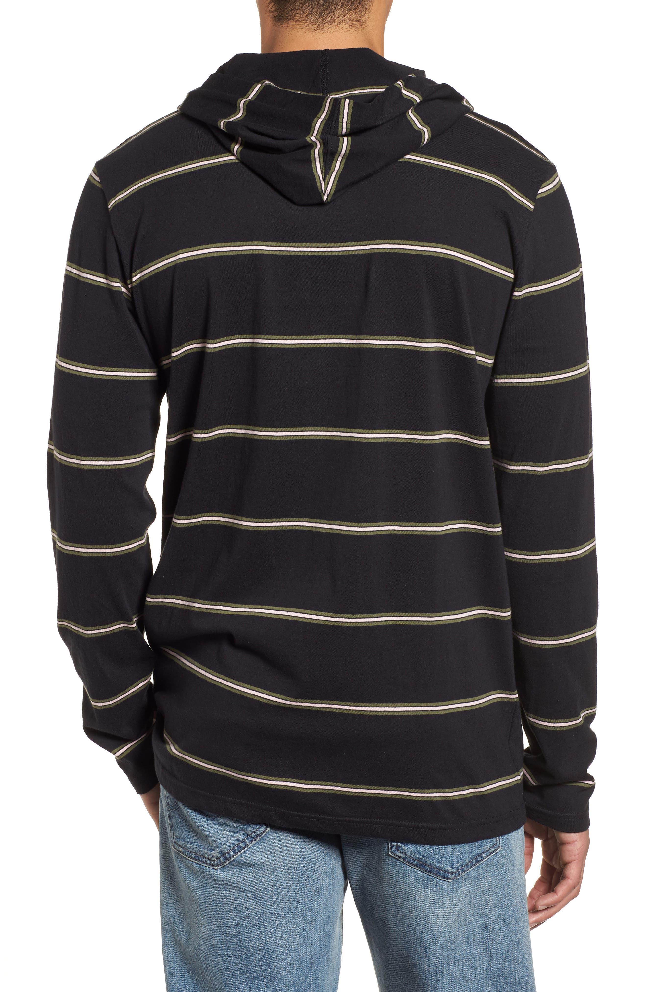Alternate Image 2  - Billabong Die Cut Hooded Long Sleeve T-Shirt