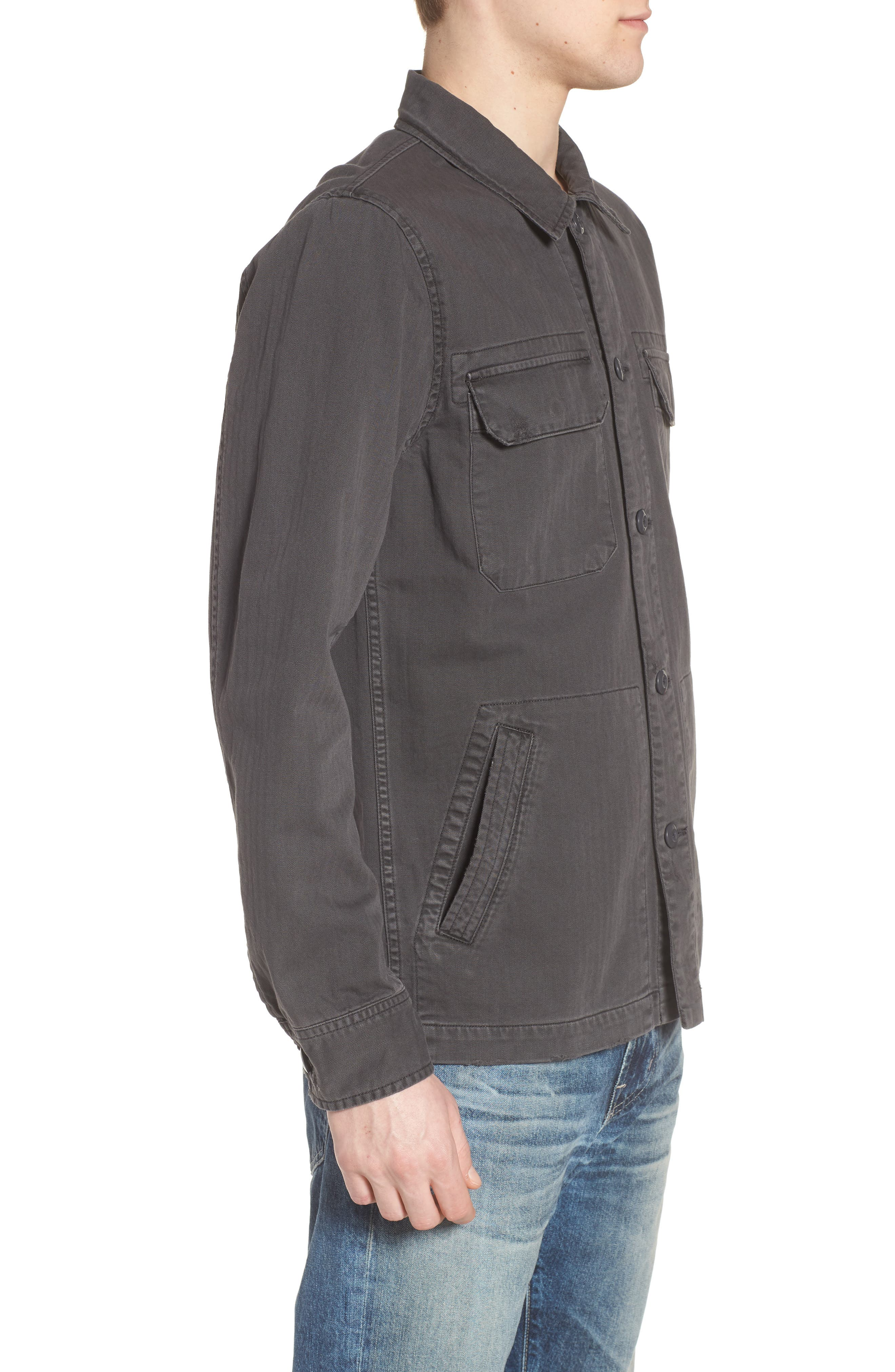 Marx Slim Fit Jacket,                             Alternate thumbnail 3, color,                             5 Years Pigment Smoke Grey