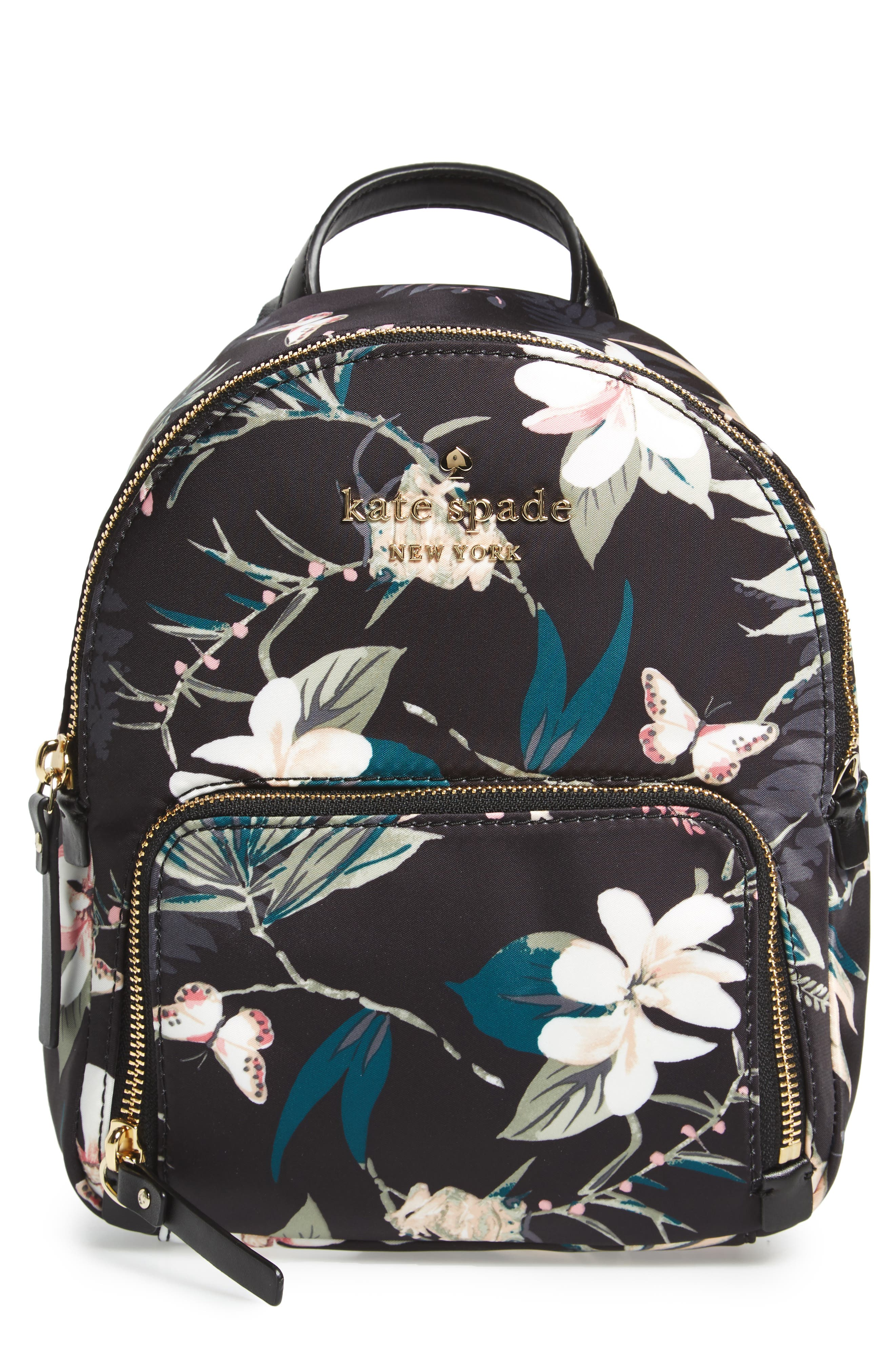 kate spade new york watson lane - botanical small hartley nylon backpack