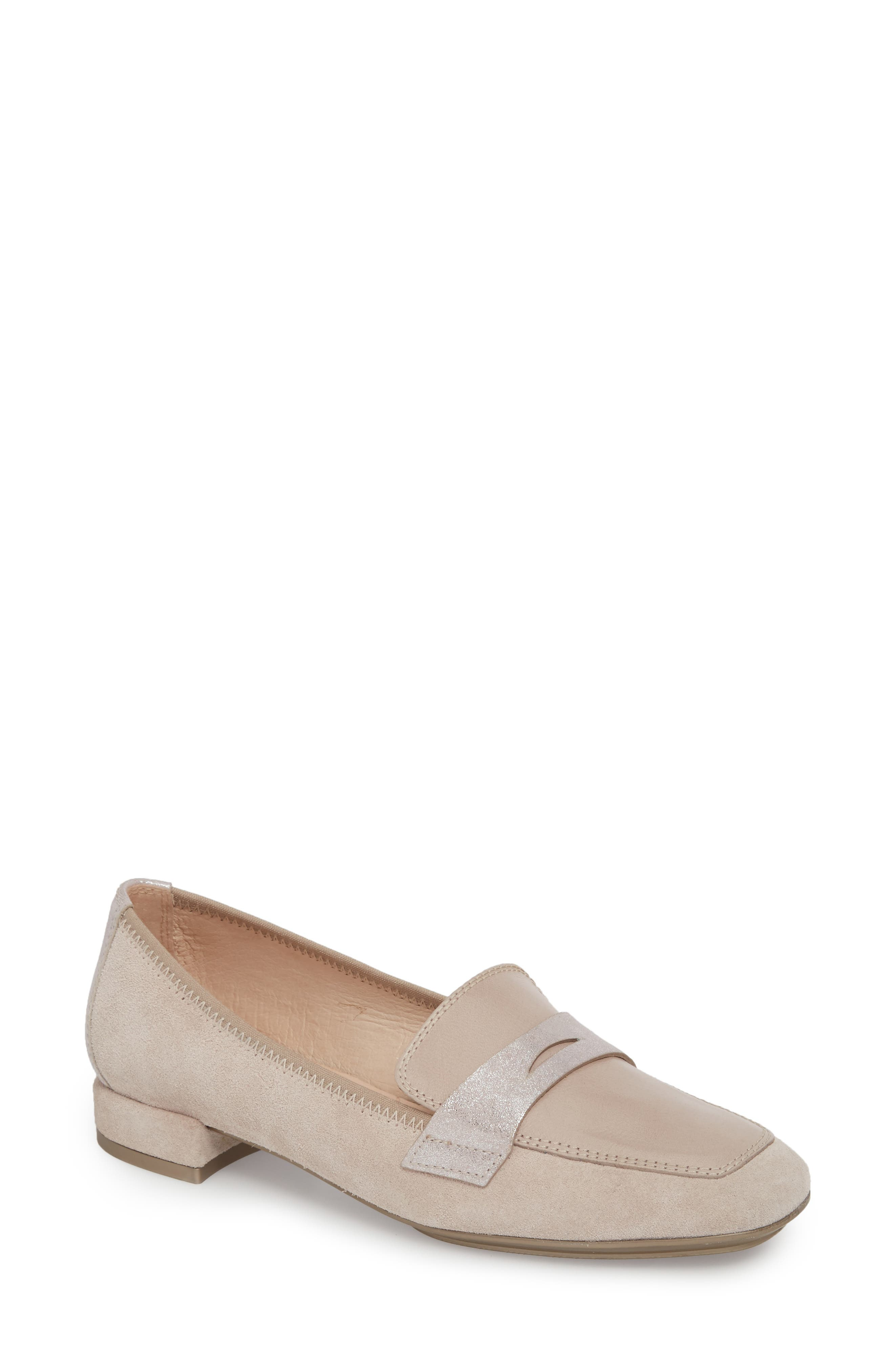 Indie Loafer,                             Main thumbnail 1, color,                             Nougat Fabric