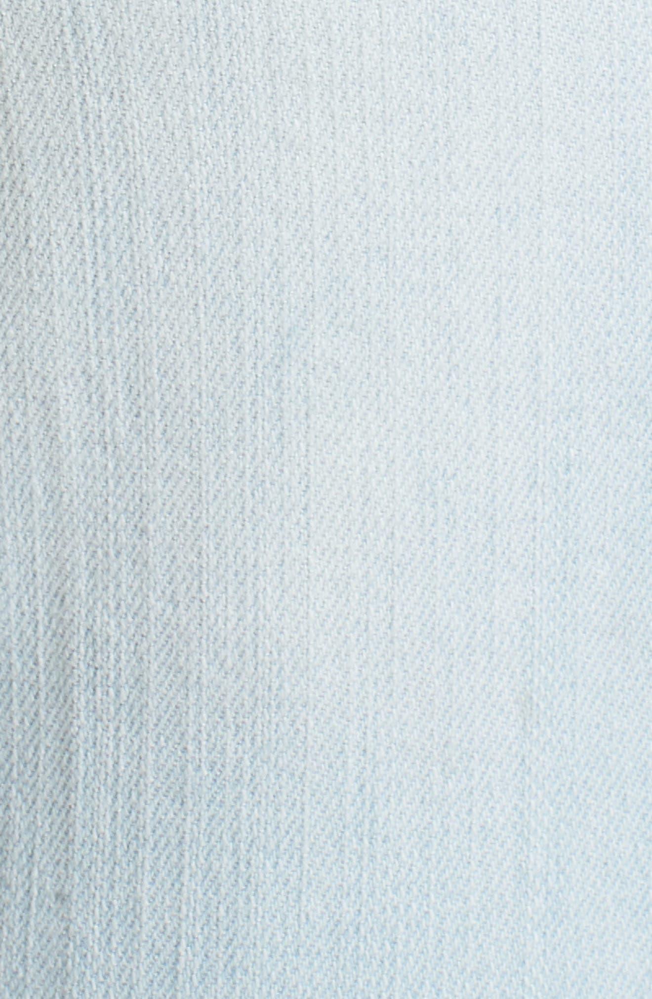 Flex-ellent Distressed Boyfriend Jeans,                             Alternate thumbnail 6, color,                             Light Blue