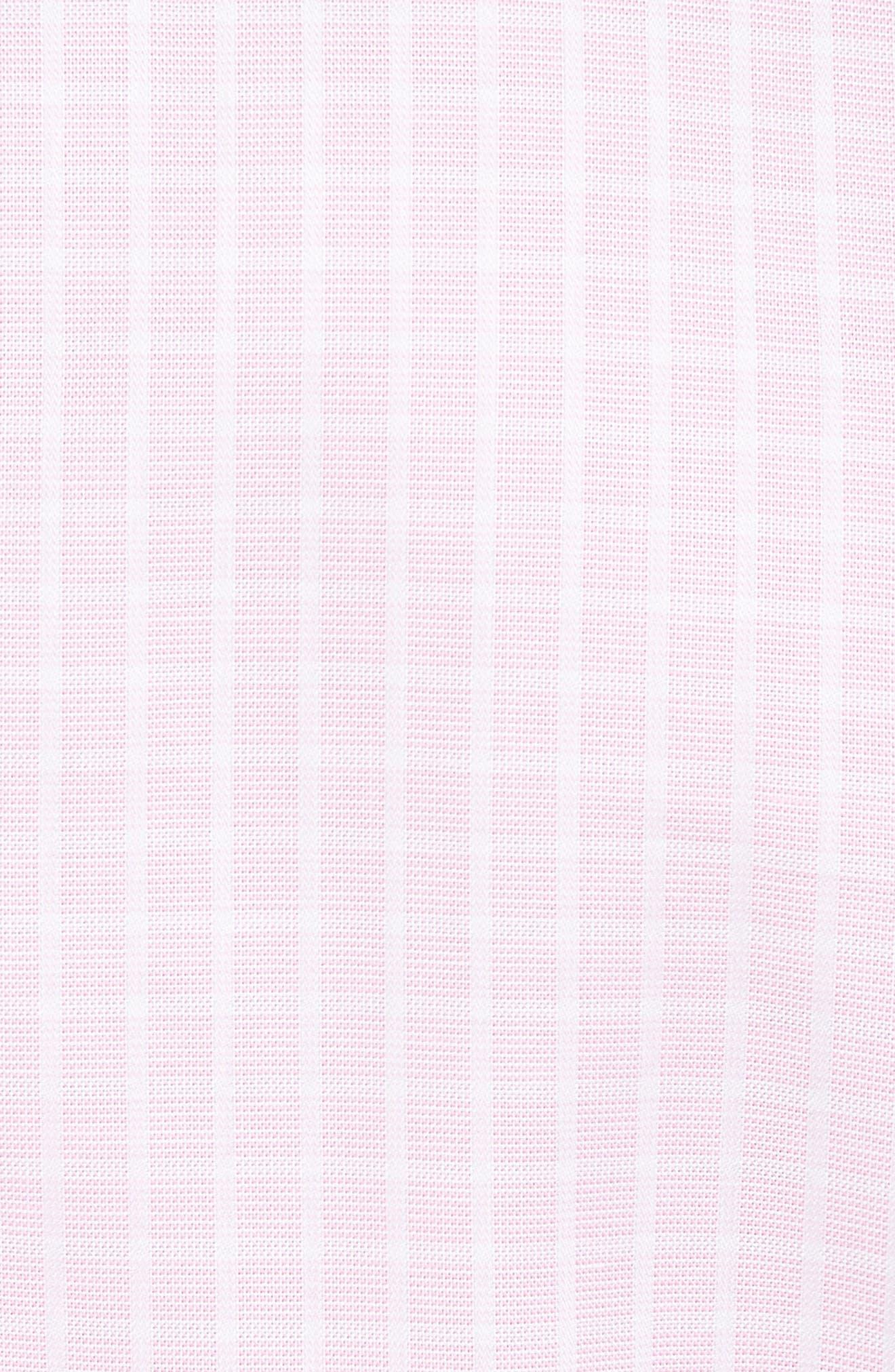 Bela Regular Fit Grid Sport Shirt,                             Alternate thumbnail 5, color,                             Pink
