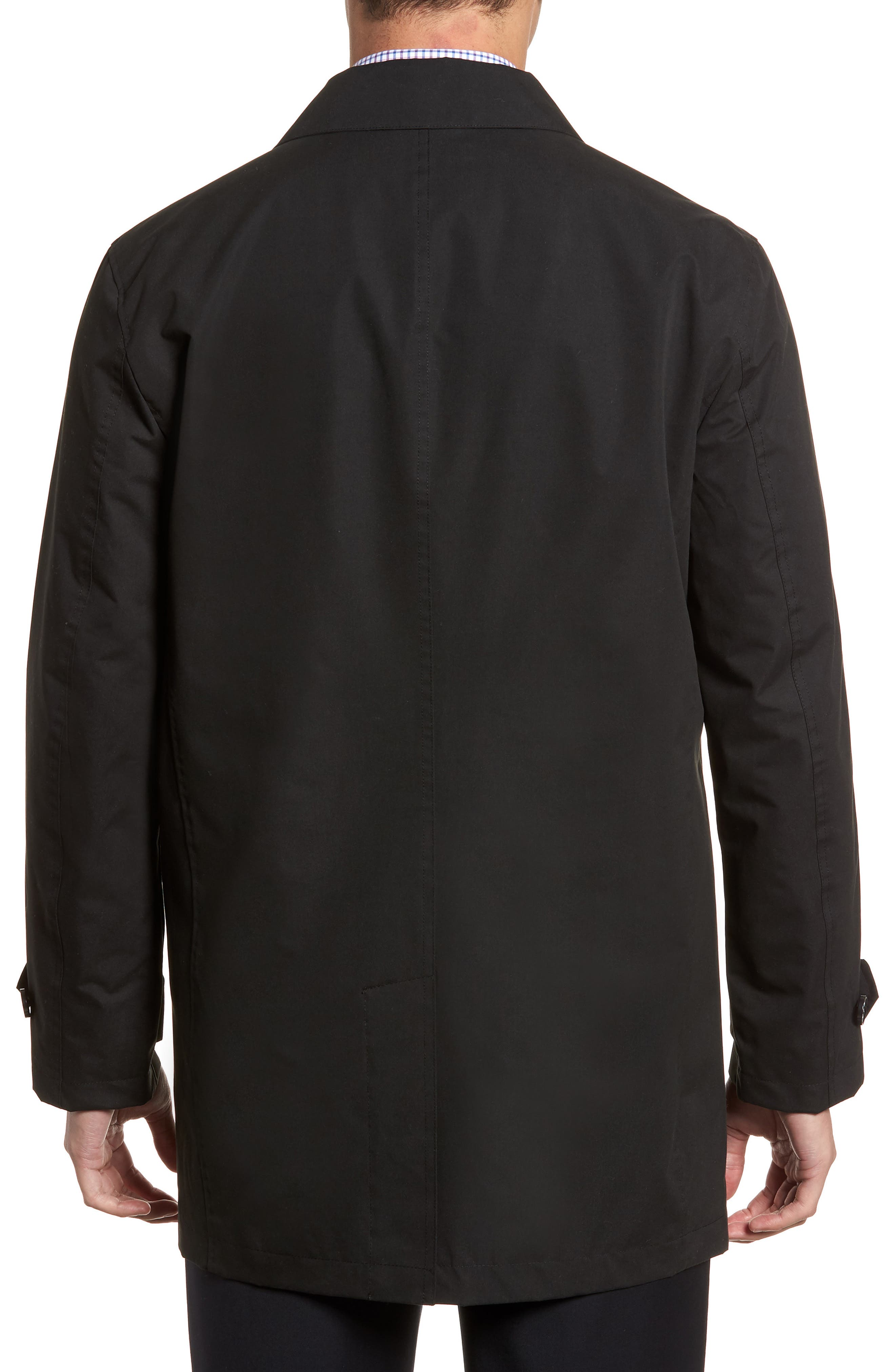 Raincoat,                             Alternate thumbnail 2, color,                             Black