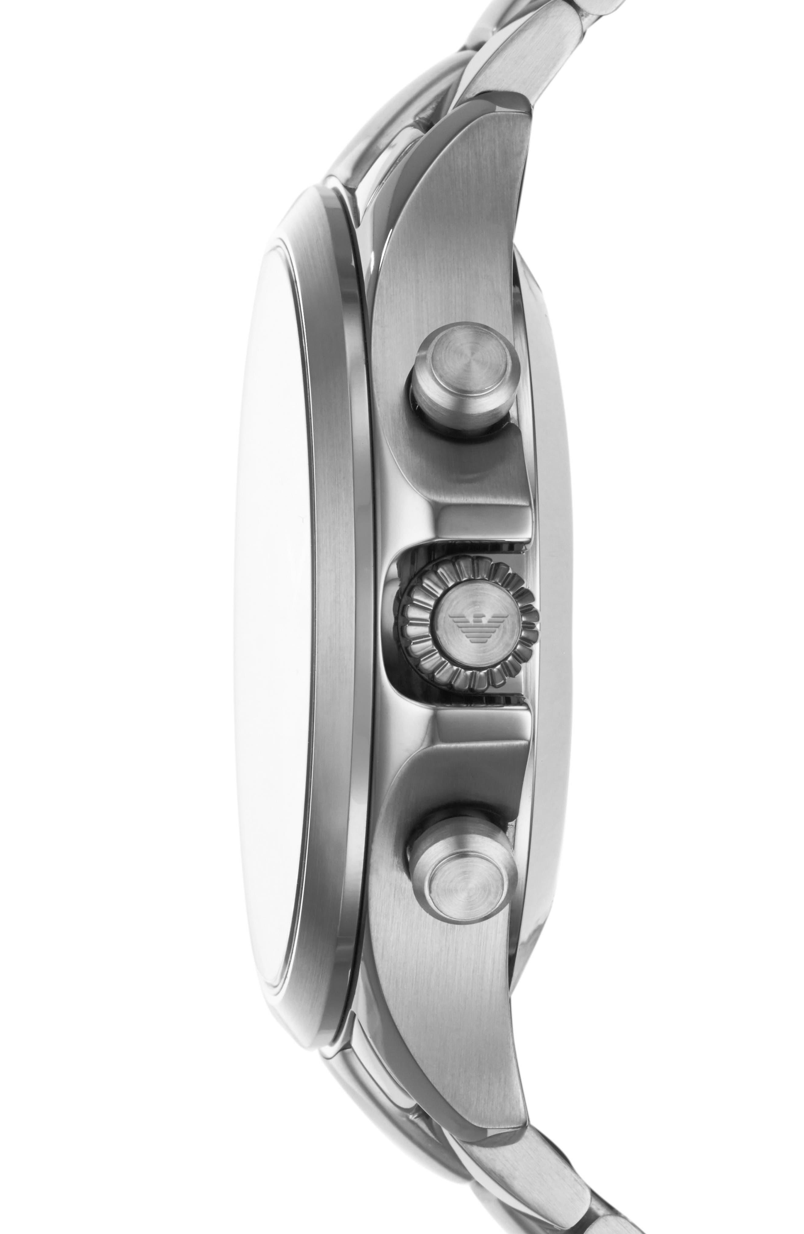 Hybrid Smartwatch, 43mm,                             Alternate thumbnail 2, color,                             Tan/ Gunmetal