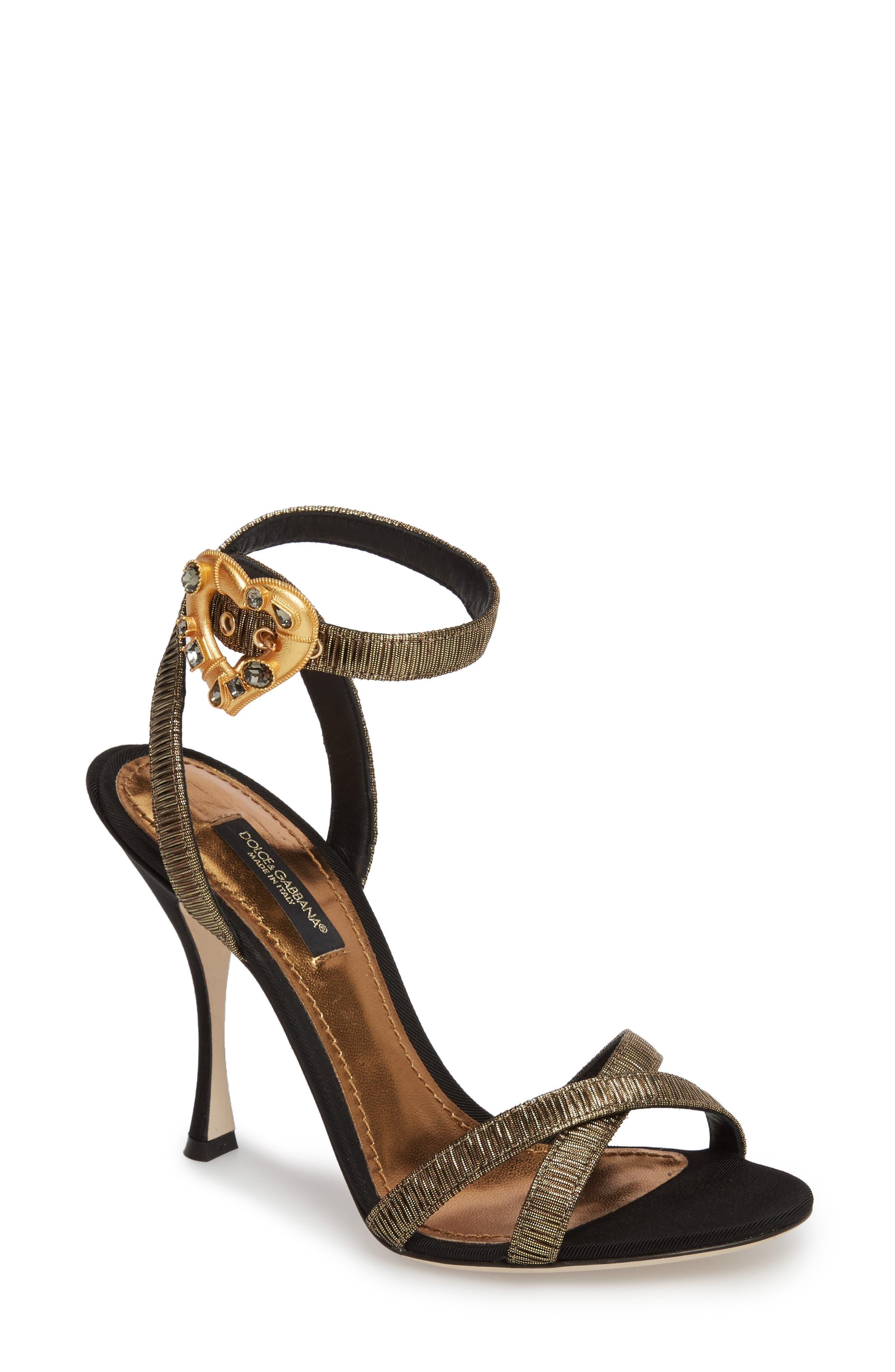 Dolce&Gabbana Ankle Strap Sandal (Women)
