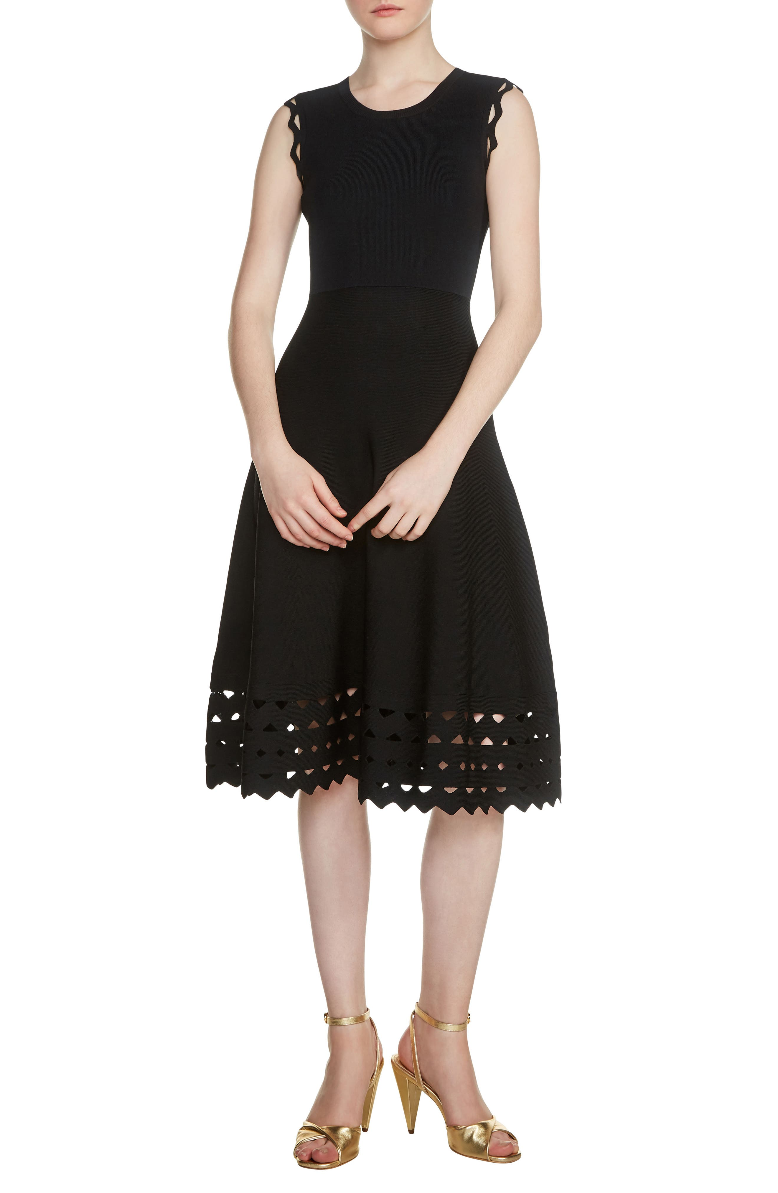 Main Image - maje Rumba Fit & Flare Dress