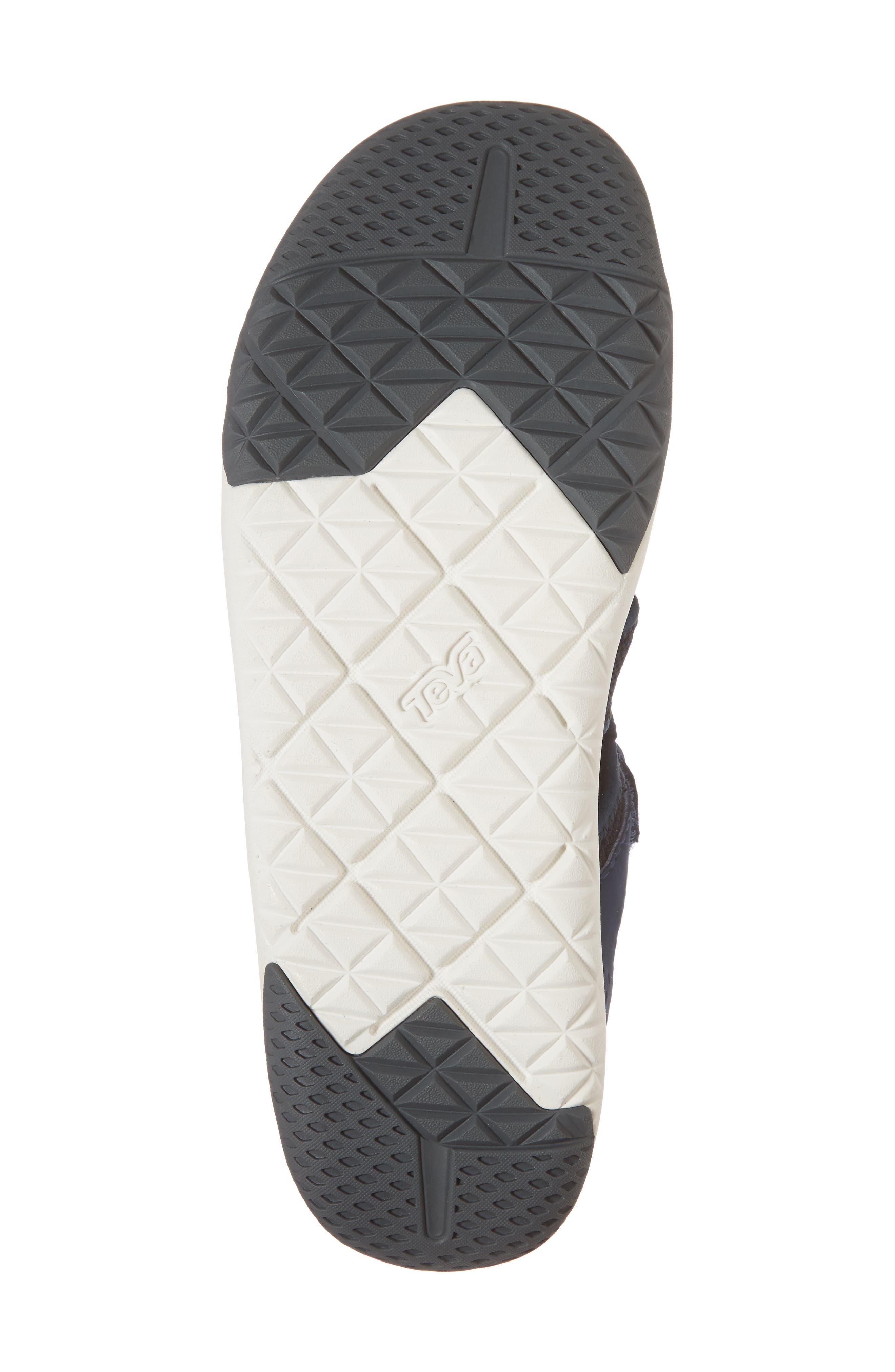 Terra Float Travel Sneaker,                             Alternate thumbnail 6, color,                             Navy Knit