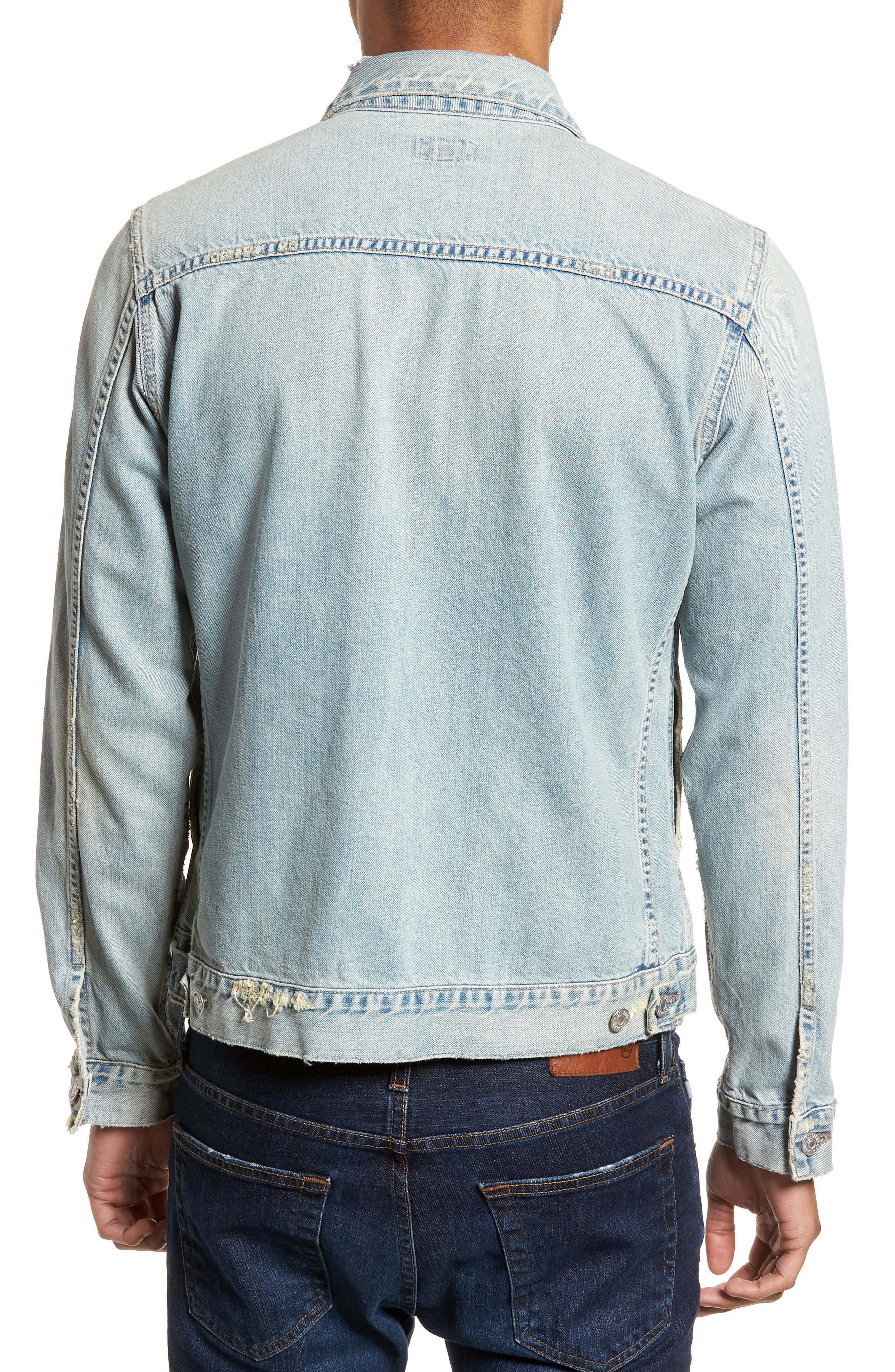 Denim Jacket,                             Alternate thumbnail 2, color,                             Silver City