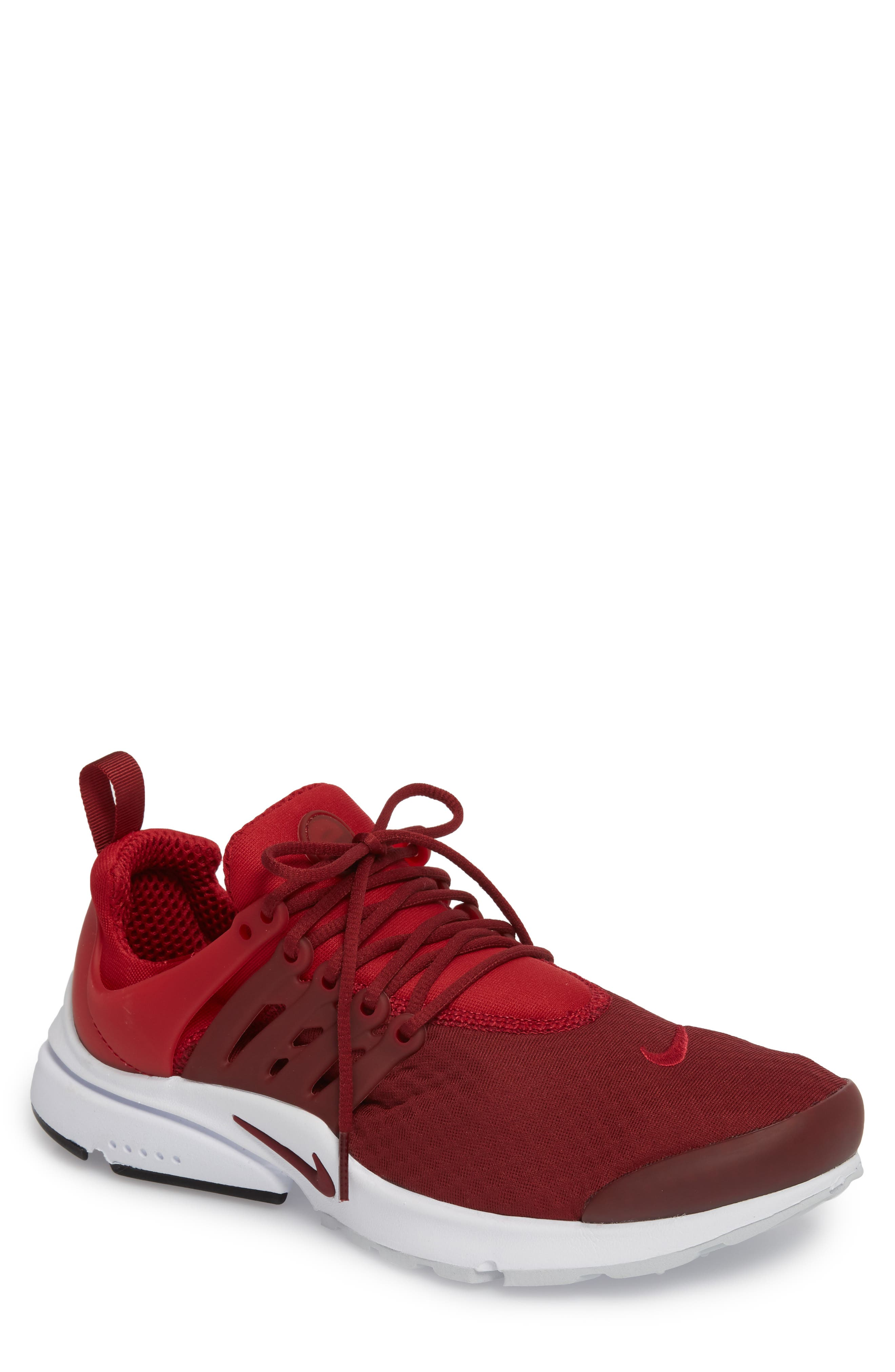 newest a736f 4e96e men s nike presto essential running shoe red underneath eyes toddler
