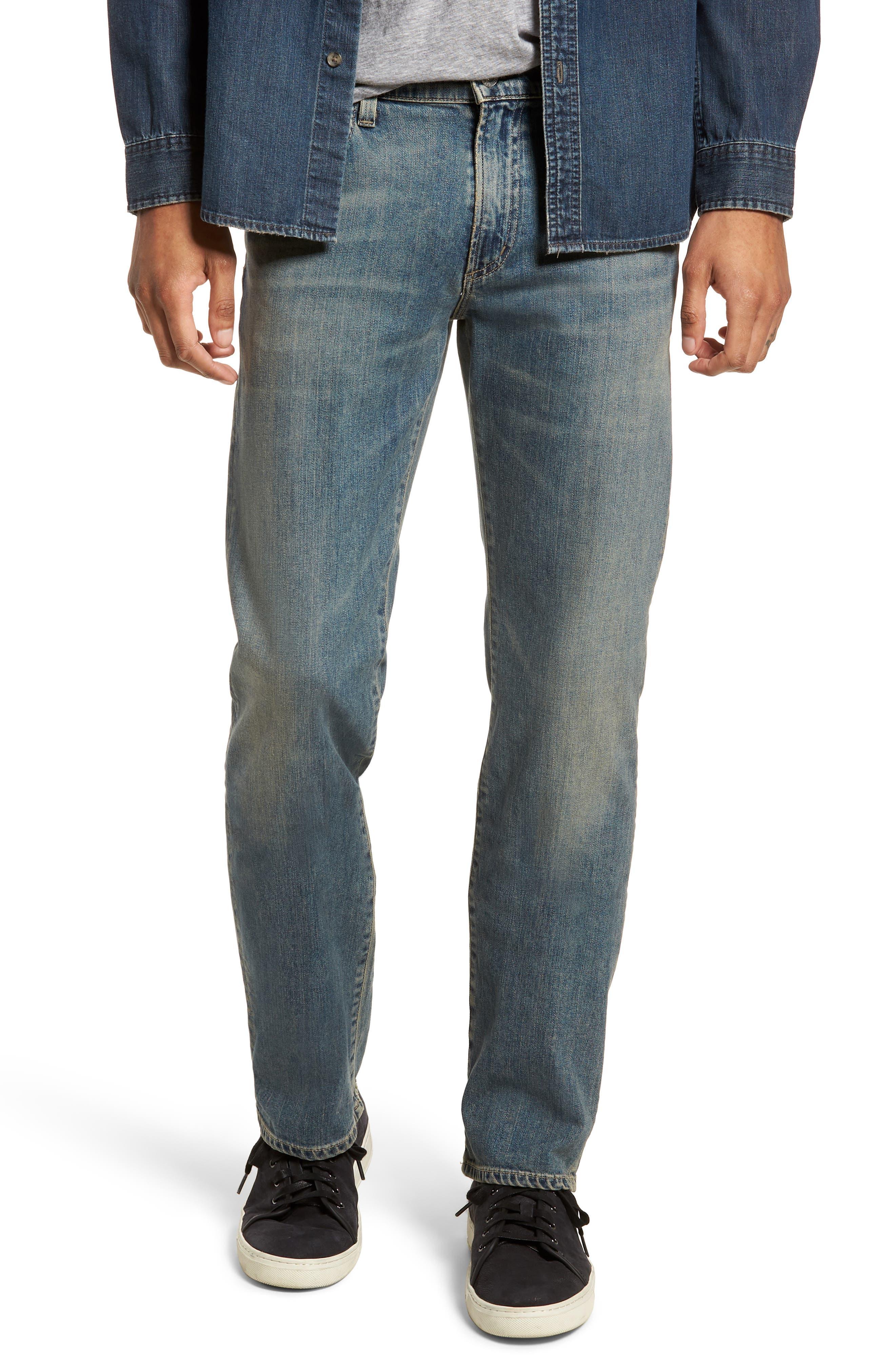 Sid Straight Leg Jeans,                             Main thumbnail 1, color,                             Hillcrest