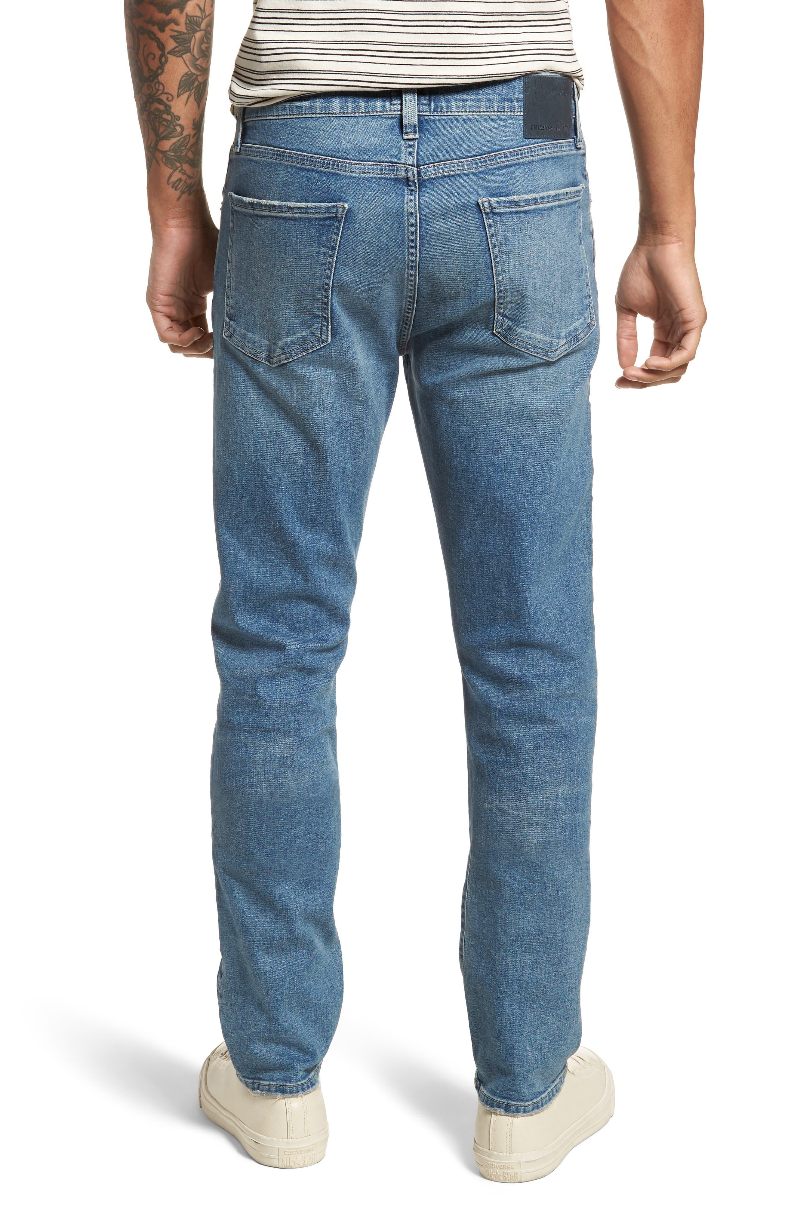 Gage Slim Straight Leg Jeans,                             Alternate thumbnail 2, color,                             Hemingway