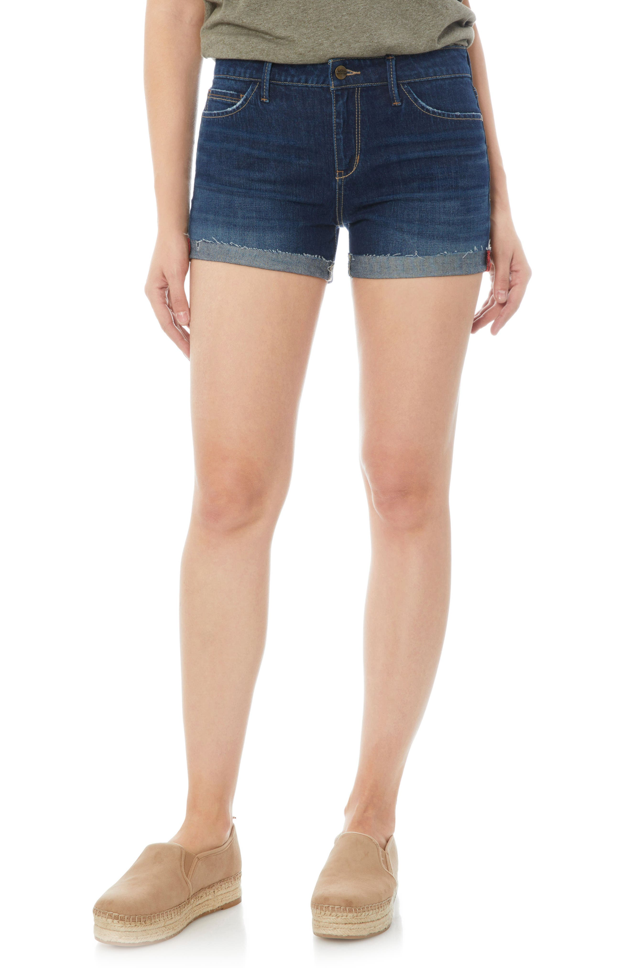 Alternate Image 1 Selected - Sam Edelman The Drew Jean Shorts (Isy)