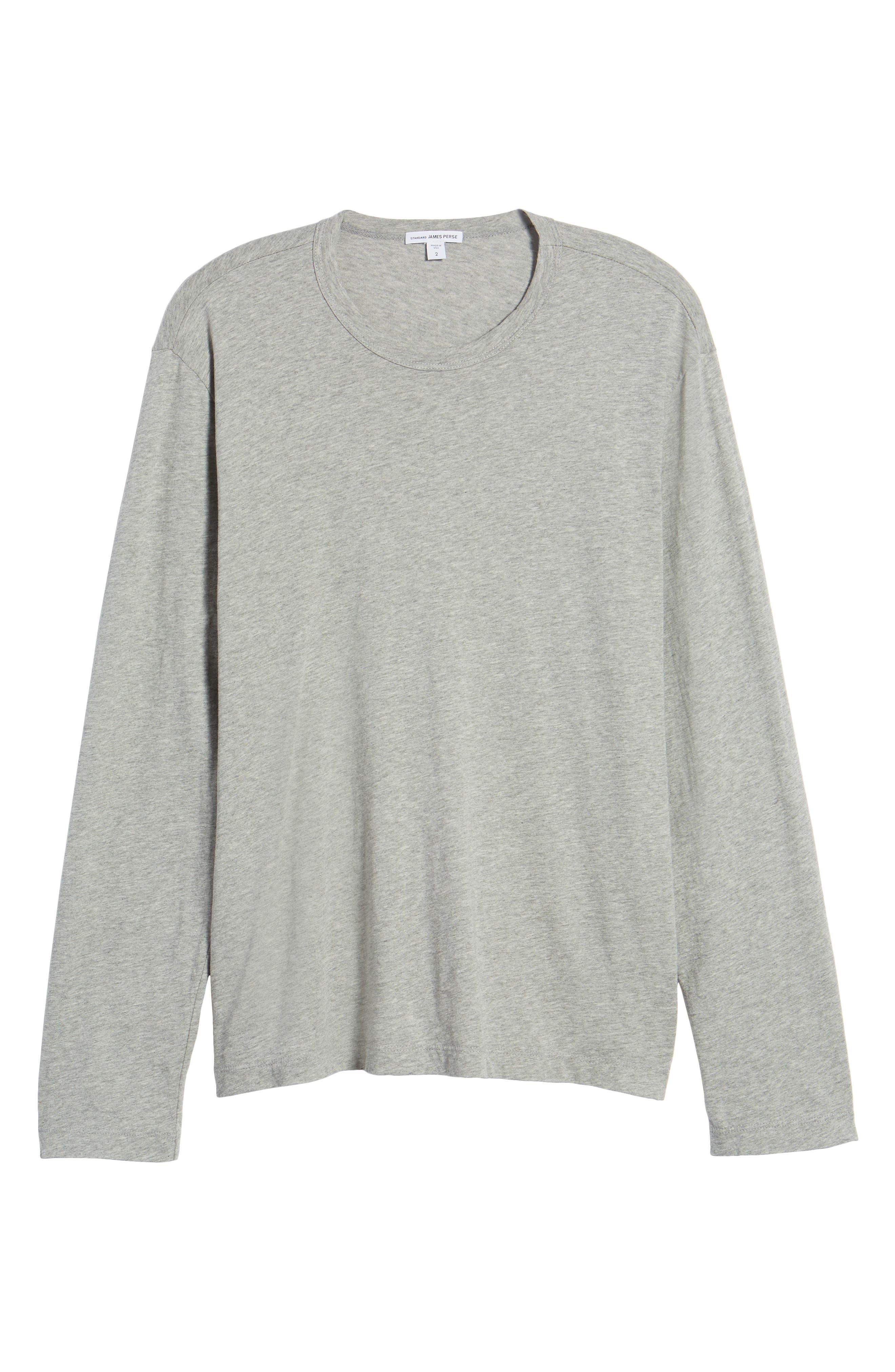 Alternate Image 6  - James Perse Crewneck Cotton Sweatshirt