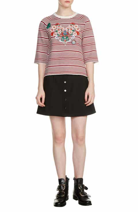 maje Marco Stripe Sweater
