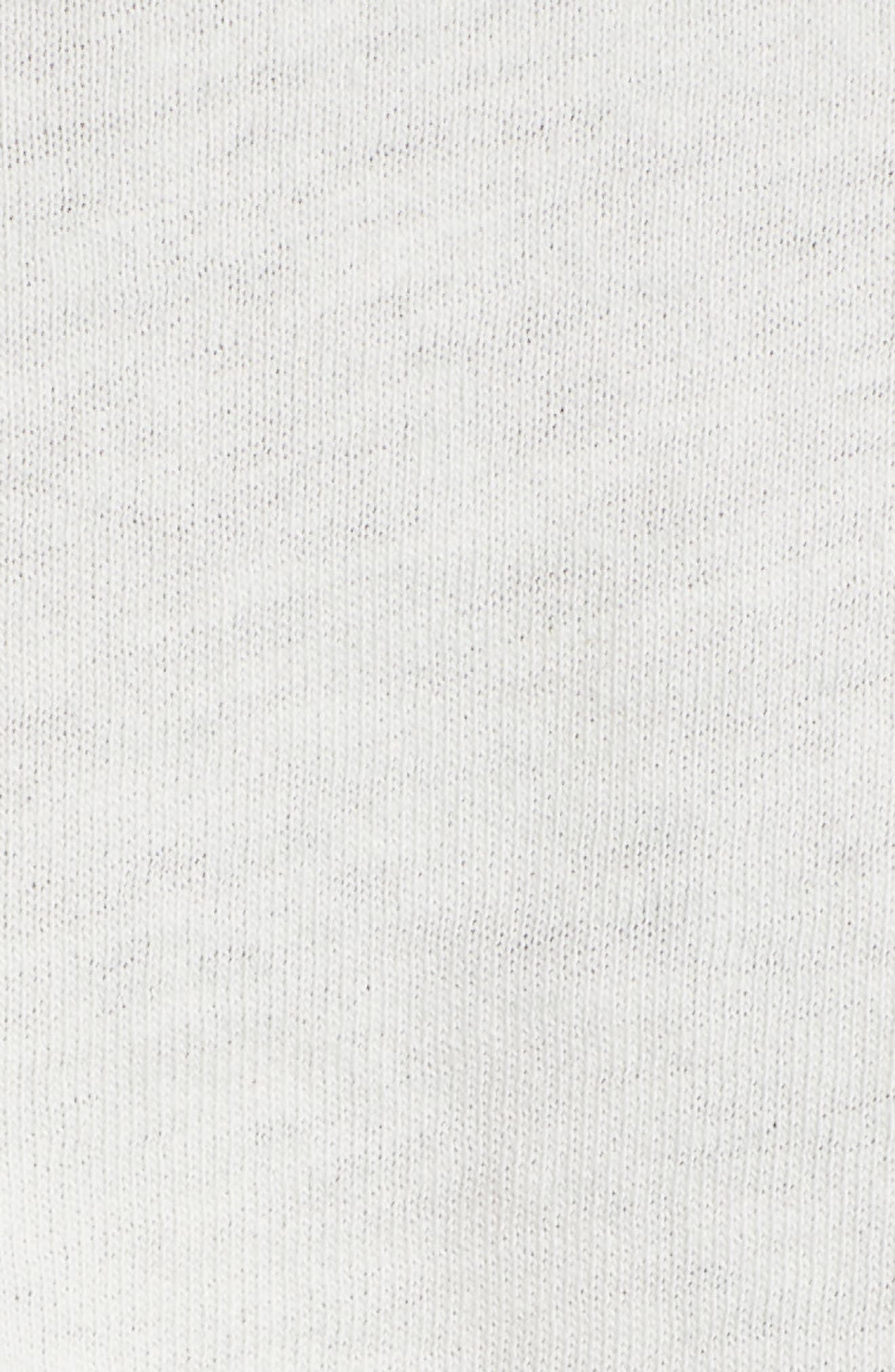 Nice Try Crop Tee,                             Alternate thumbnail 6, color,                             Washed Ivory
