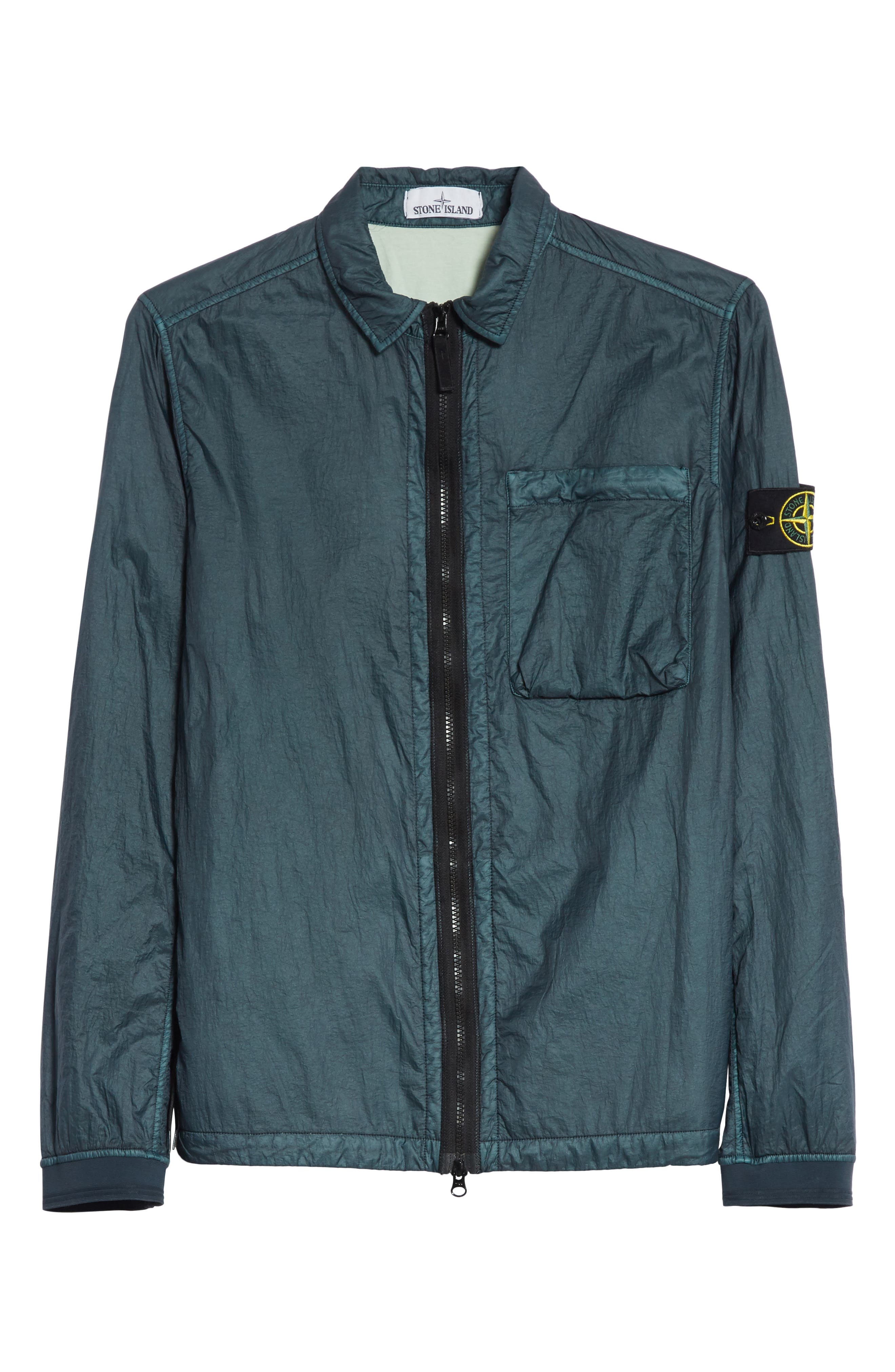 Nylon Jacket,                             Alternate thumbnail 6, color,                             Blue
