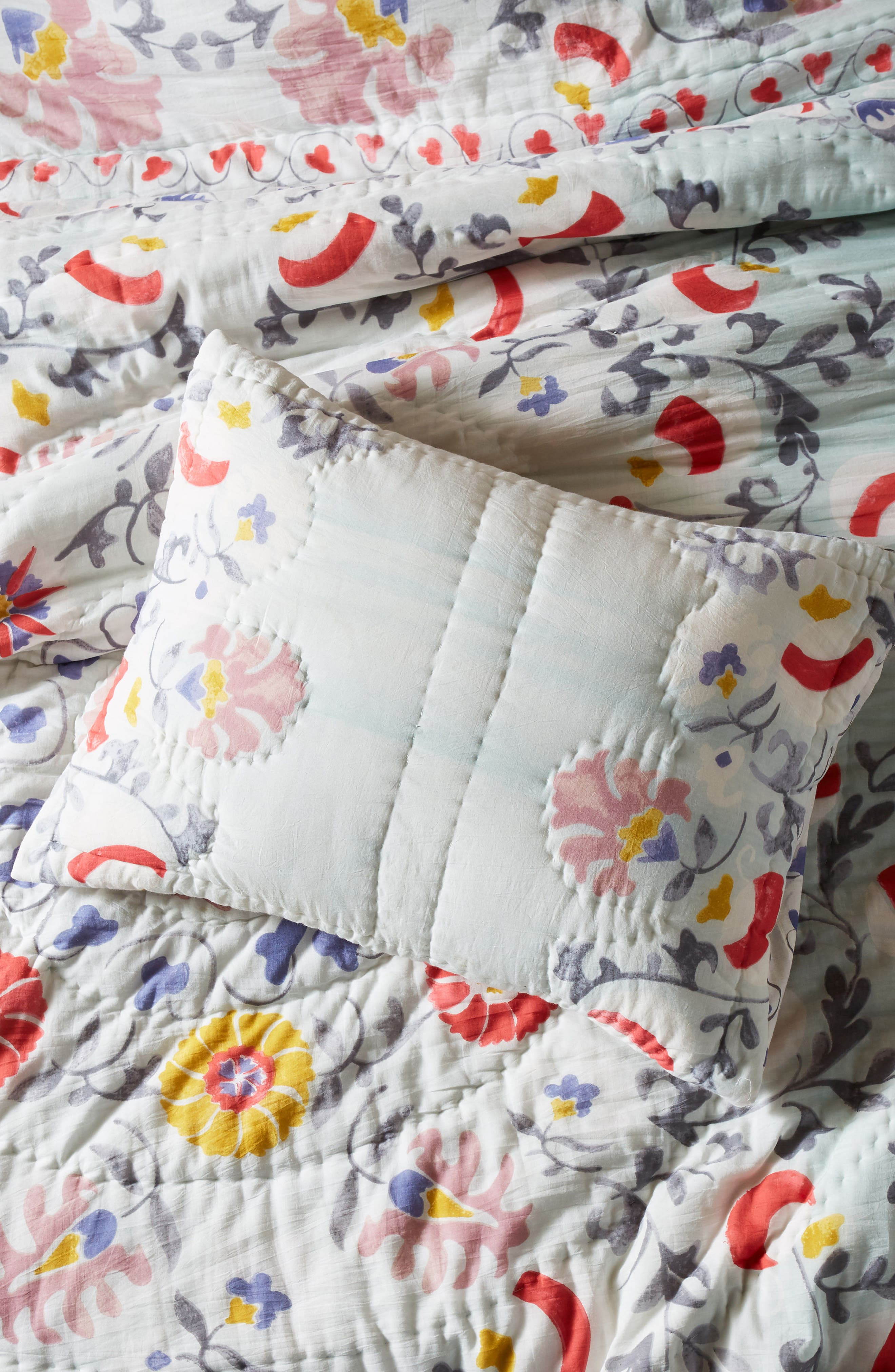 Viviana Pillow Shams,                             Main thumbnail 1, color,                             Assort