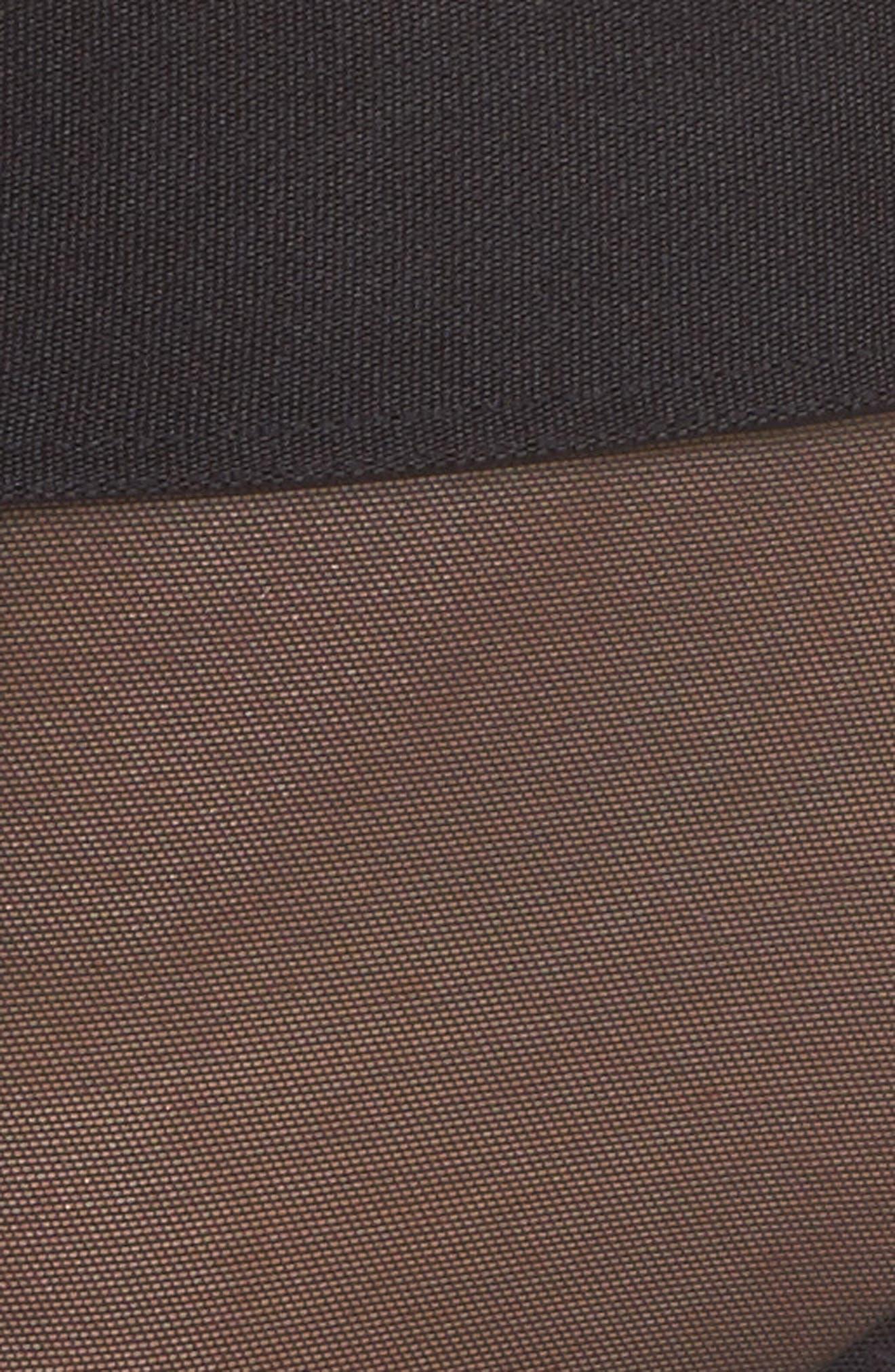 Sheers Thong,                             Alternate thumbnail 6, color,                             Black