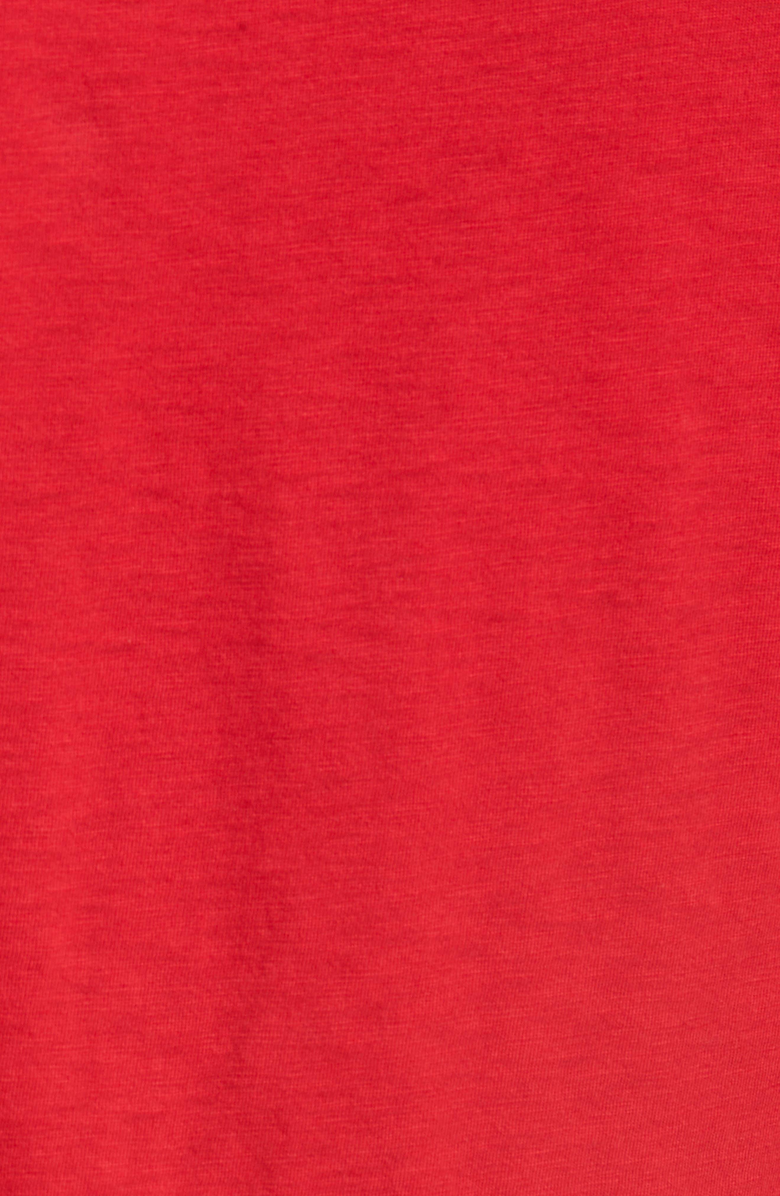 Sex Pistols Crewneck T-Shirt,                             Alternate thumbnail 5, color,                             Red Sex Pistols