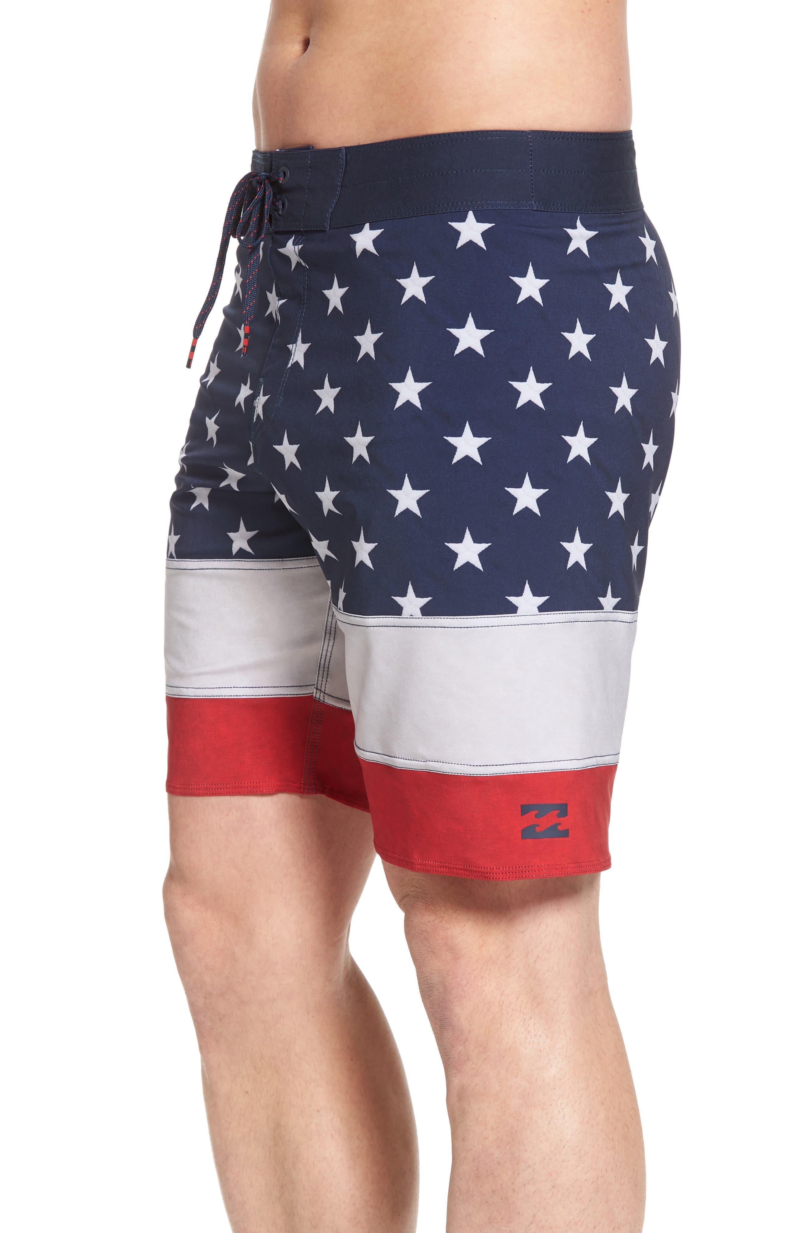 Pump X Board Shorts,                             Alternate thumbnail 4, color,                             Navy