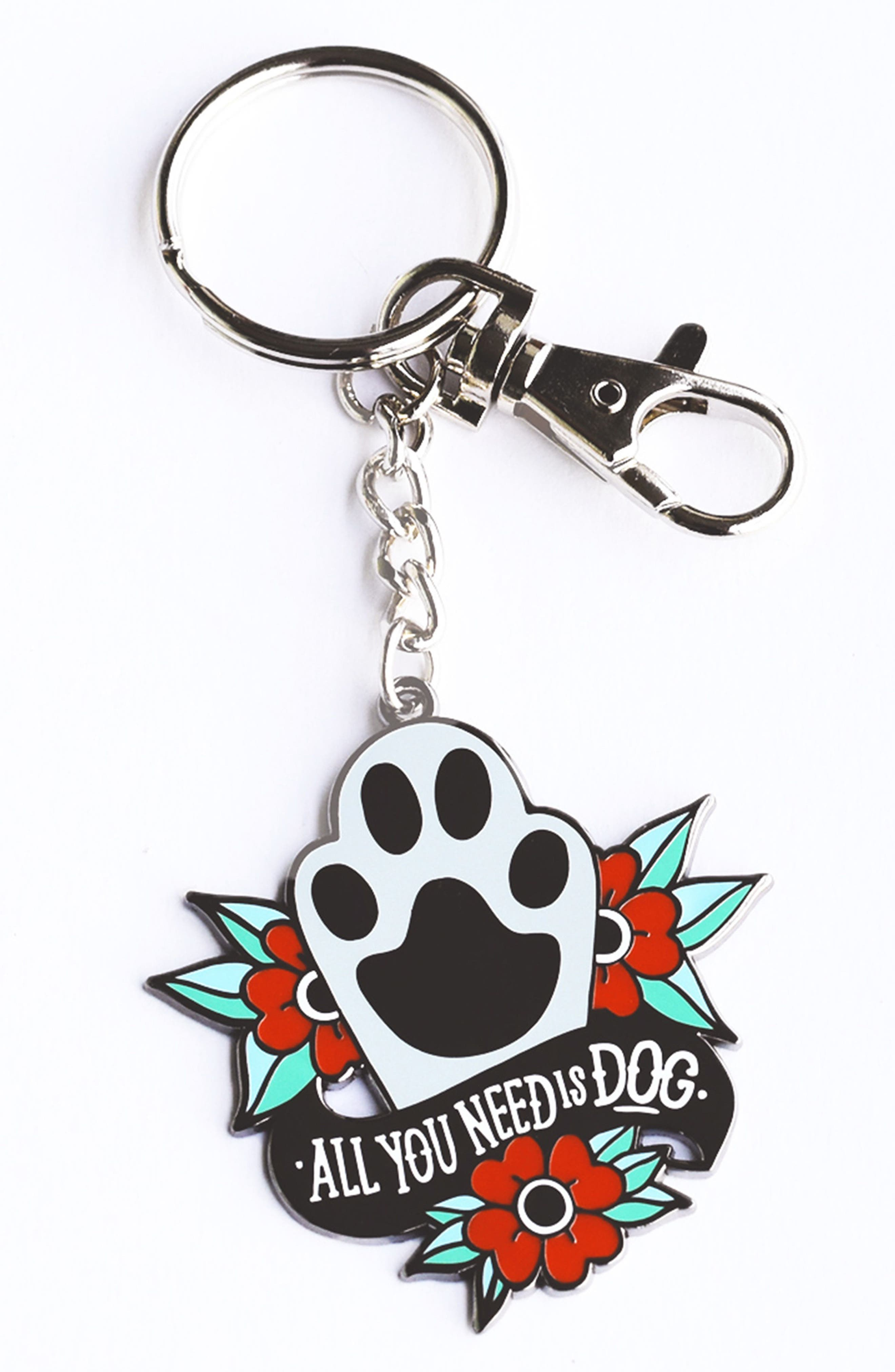 FIVE15 All You Need Is Dog Key Chain