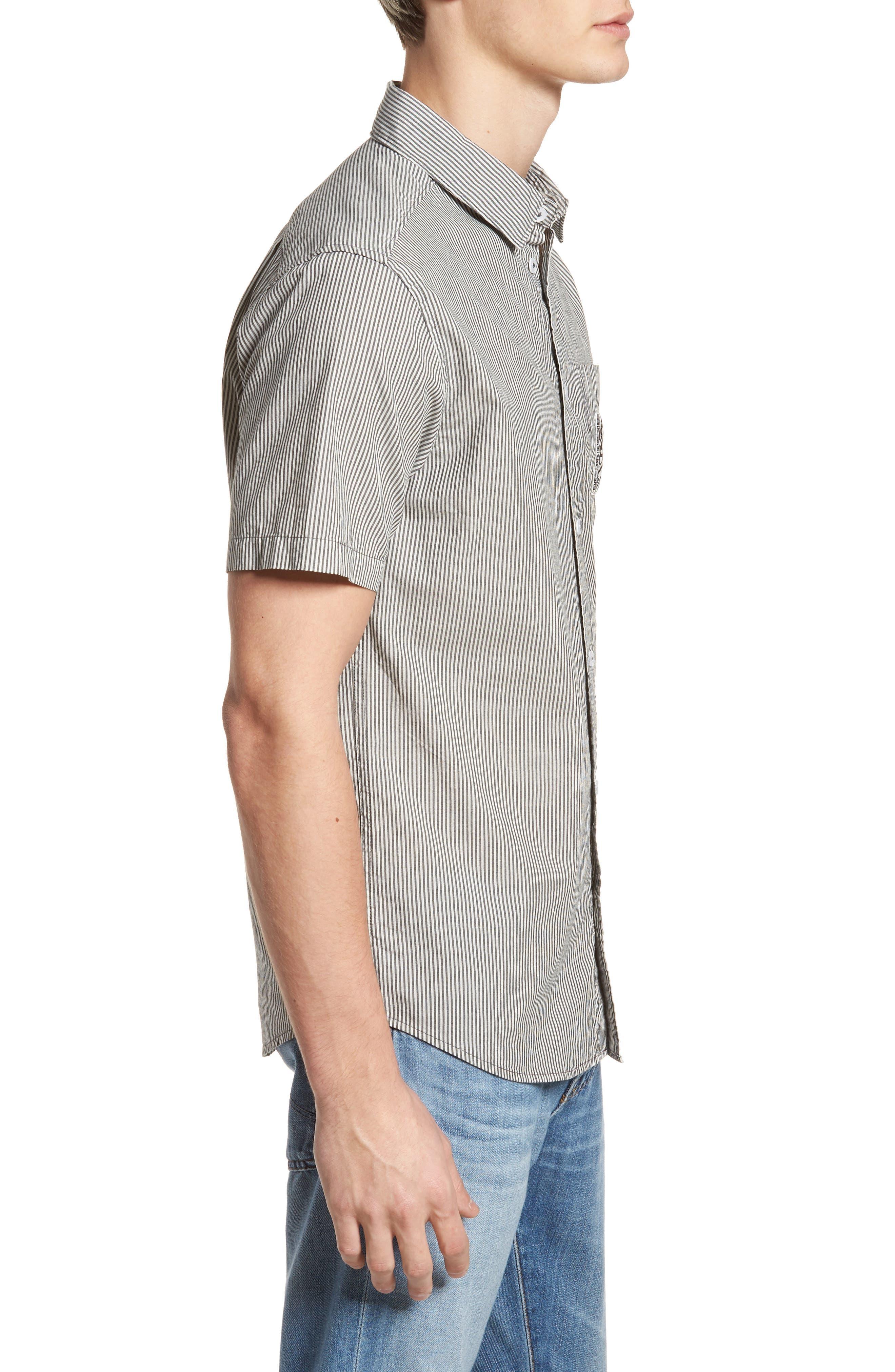 Alternate Image 3  - RVCA resort Disruption Woven Shirt