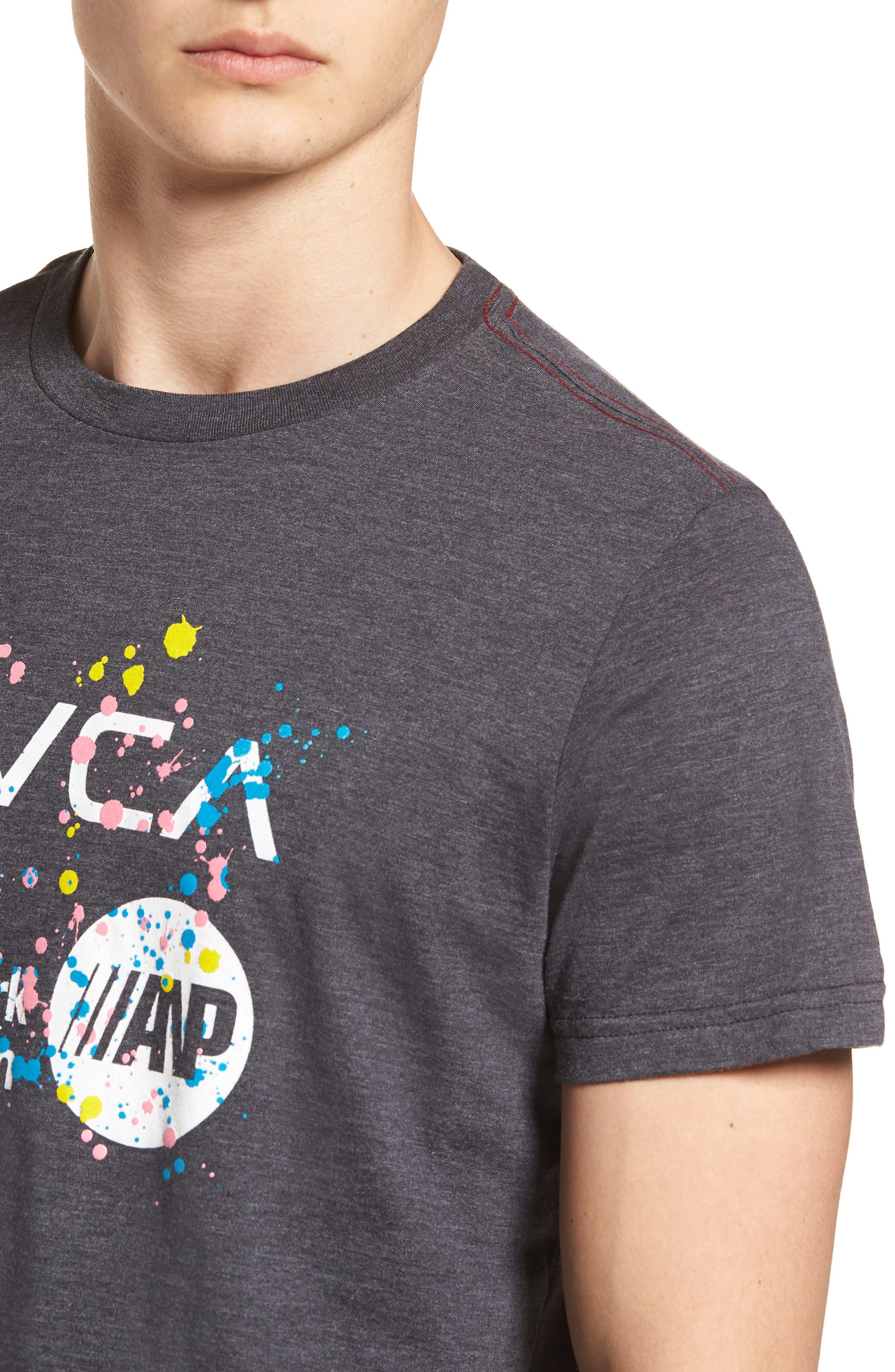 Dmote ANP T-Shirt,                             Alternate thumbnail 4, color,                             Black