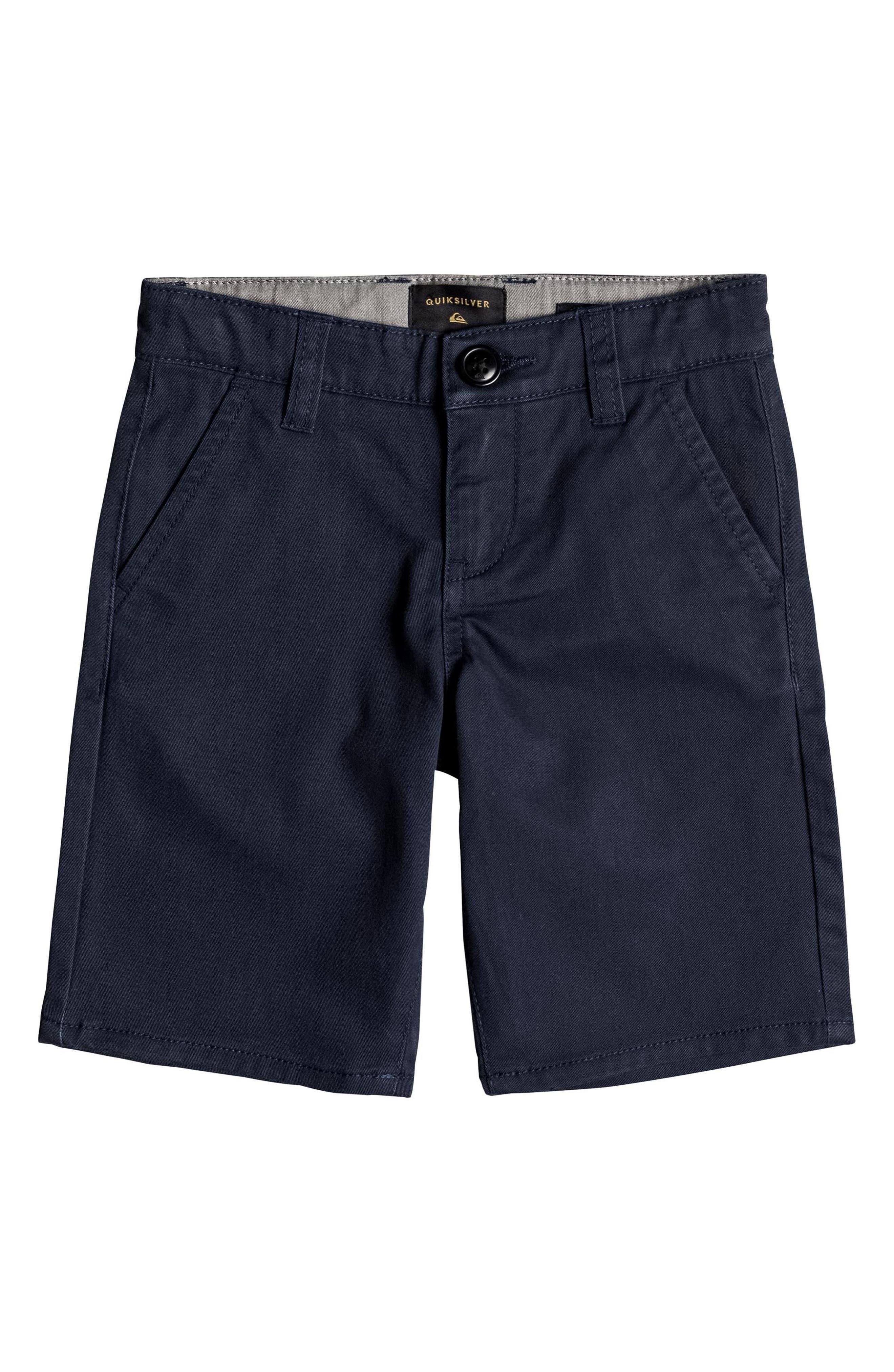 Everyday Union Stretch Shorts,                             Main thumbnail 1, color,                             Navy Blazer