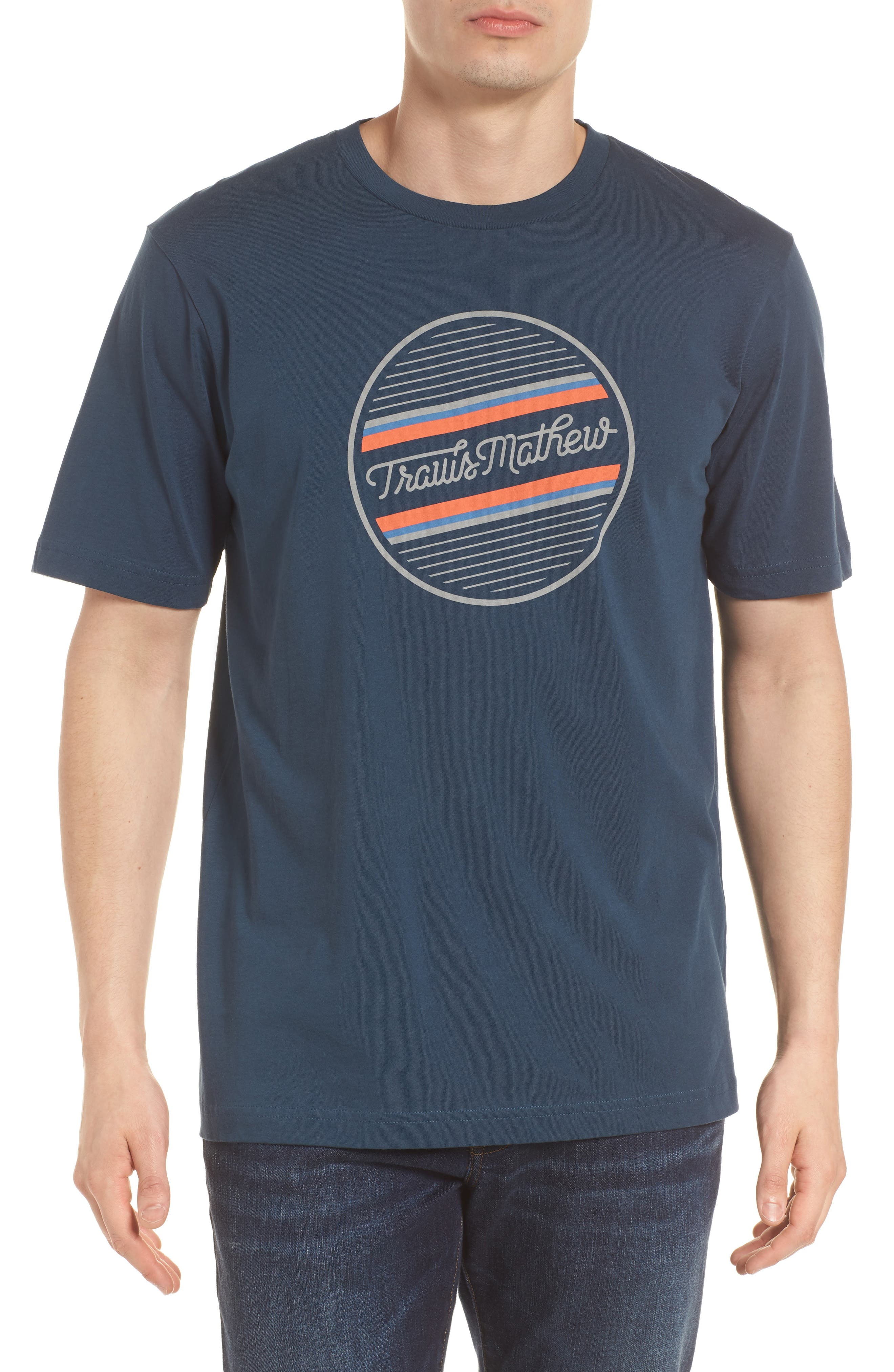 Officially Unofficial Graphic T-Shirt,                         Main,                         color, Blue Nights