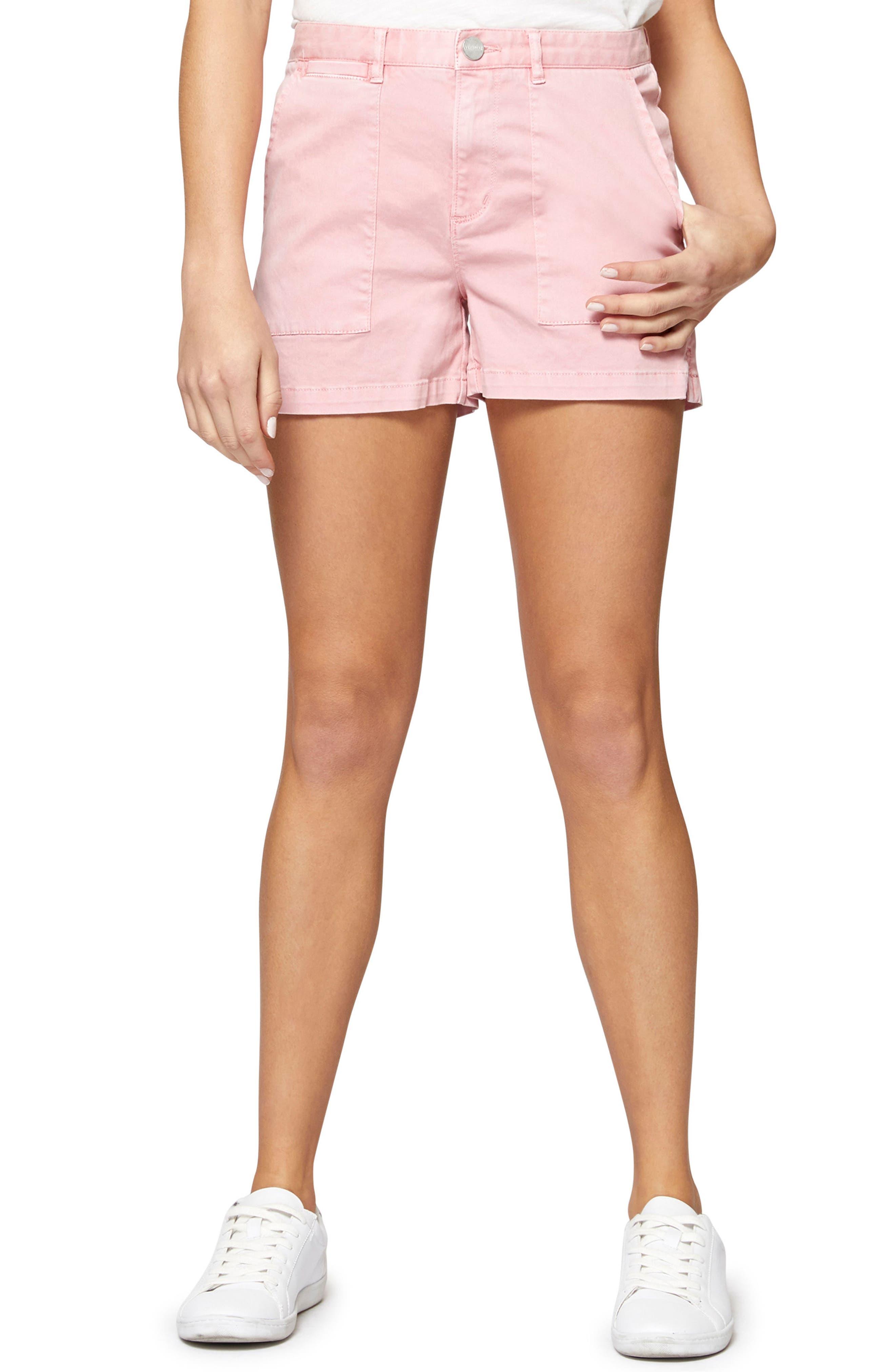 Field Shorts,                             Main thumbnail 1, color,                             Flamingo